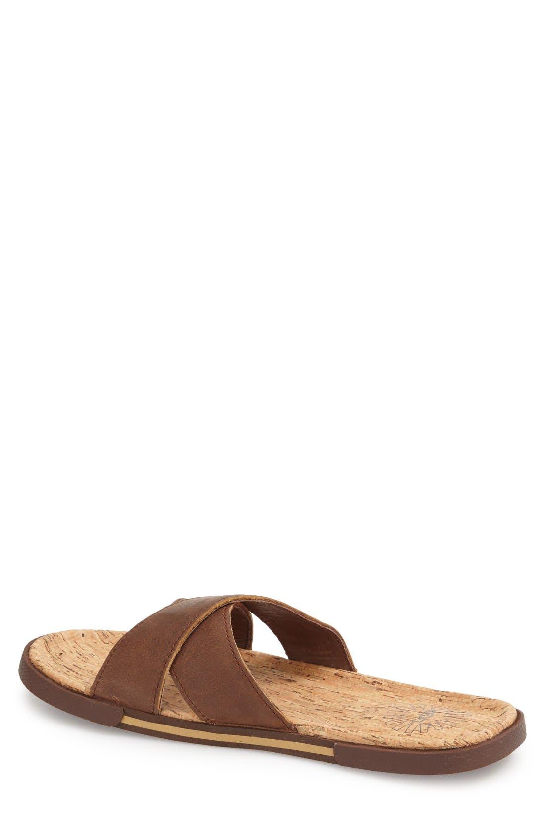 Alternate Image 2  - UGG® 'Ithan' Slide Sandal (Men's)