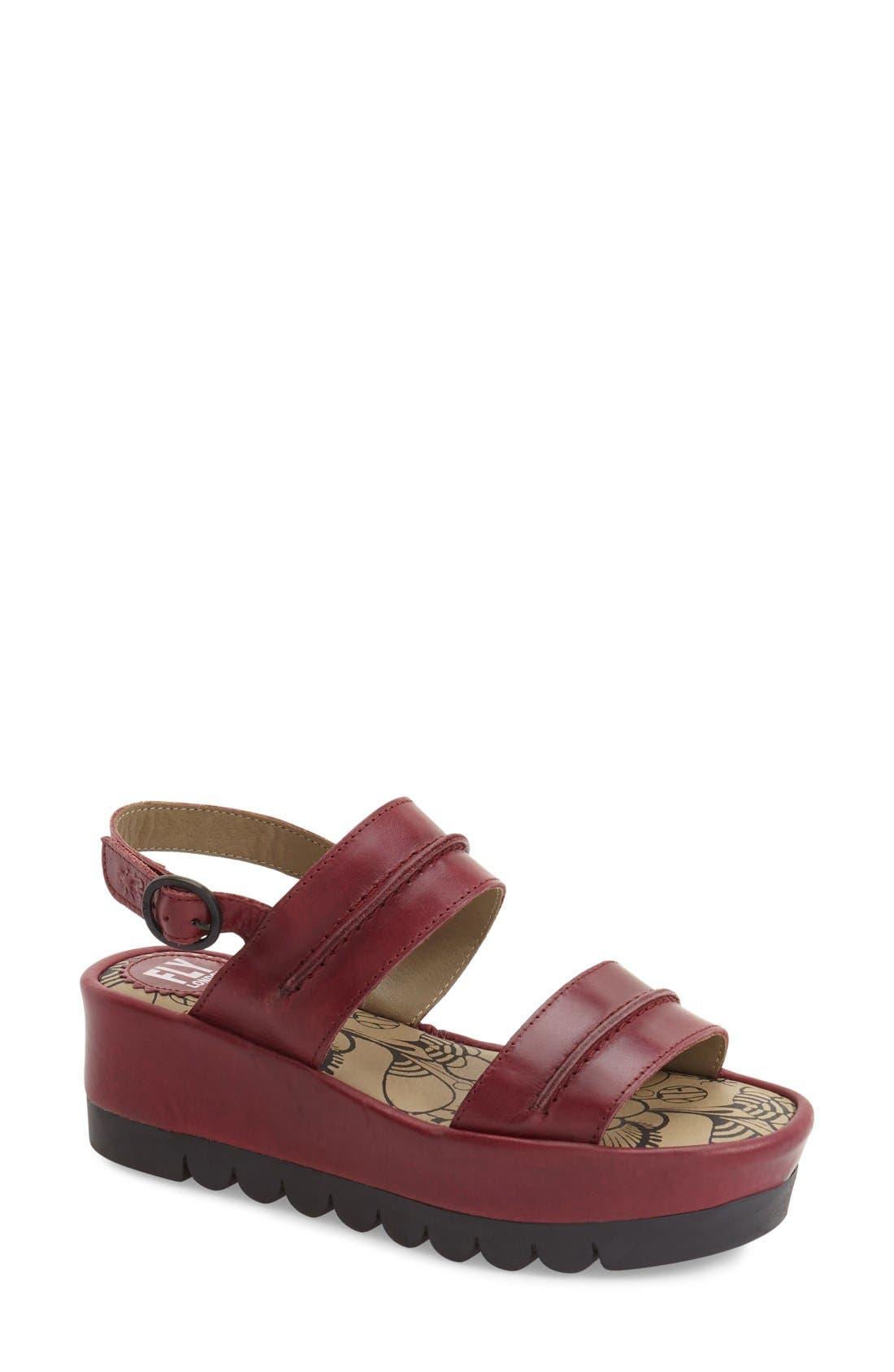 Main Image - Fly London 'Baku' Platform Sandal (Women)