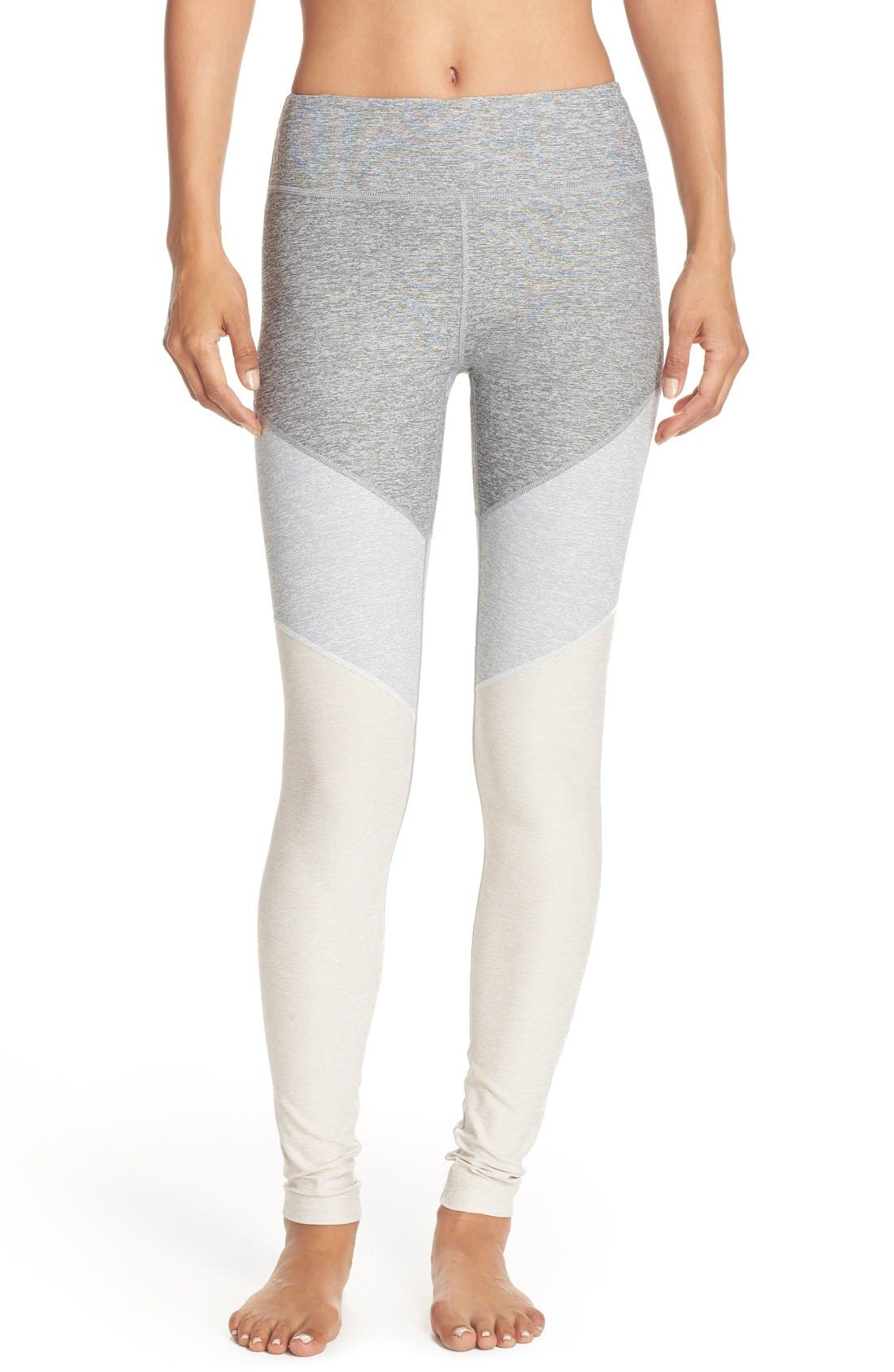 Alternate Image 1 Selected - Outdoor Voices 'Springs' Colorblock Leggings