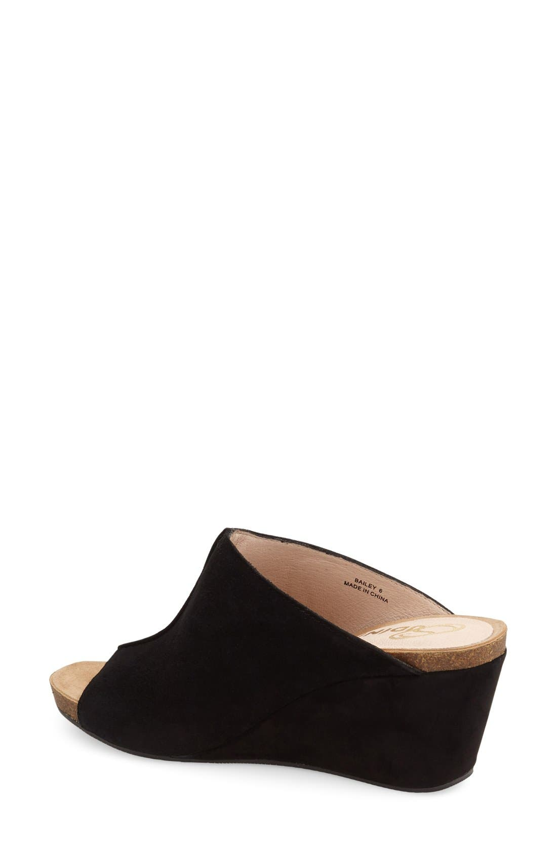 Alternate Image 2  - Sudini 'Bailey' Suede Wedge (Women)