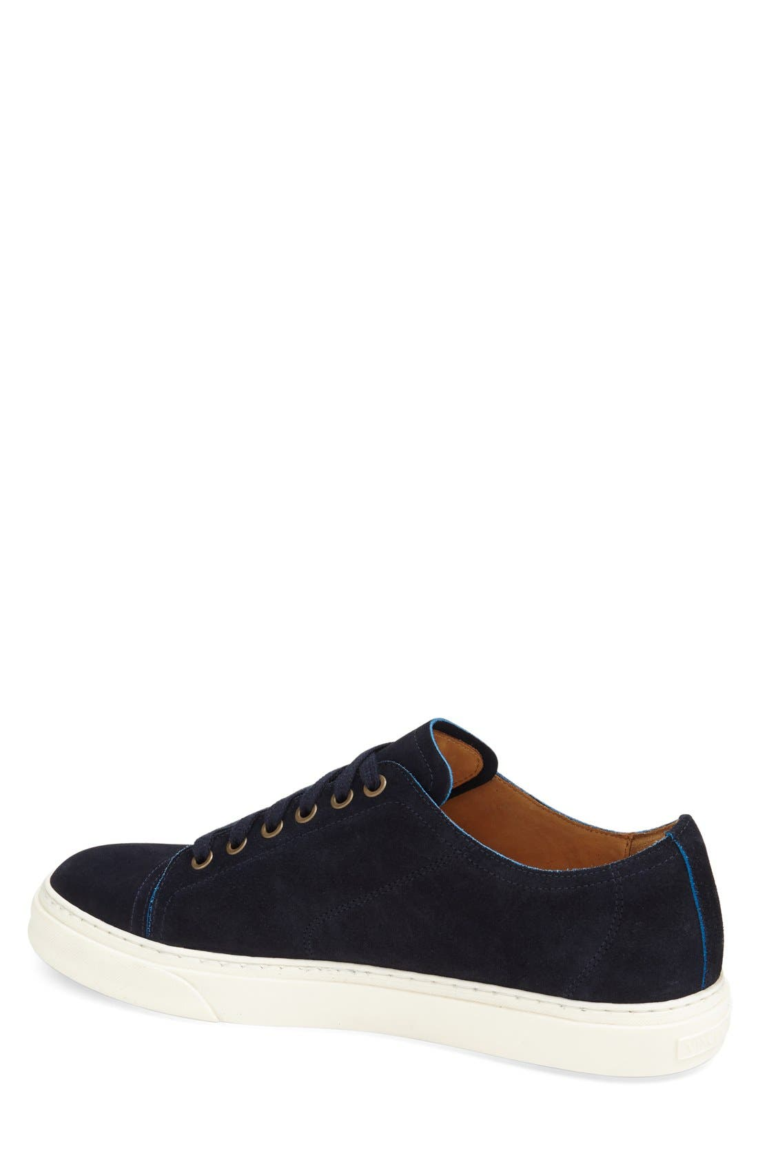 'Quort' Sneaker,                             Alternate thumbnail 2, color,                             Navy Suede