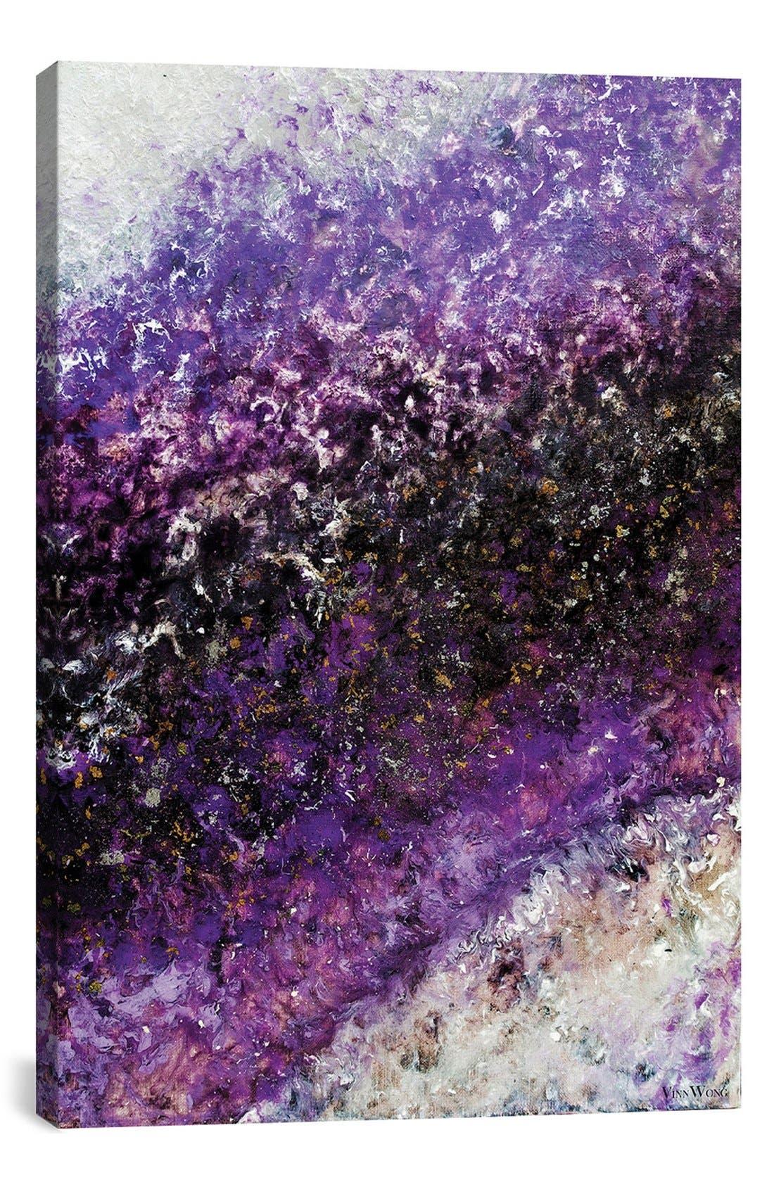 'Beyond Far' Giclée Print Canvas Art,                             Main thumbnail 1, color,                             Purple