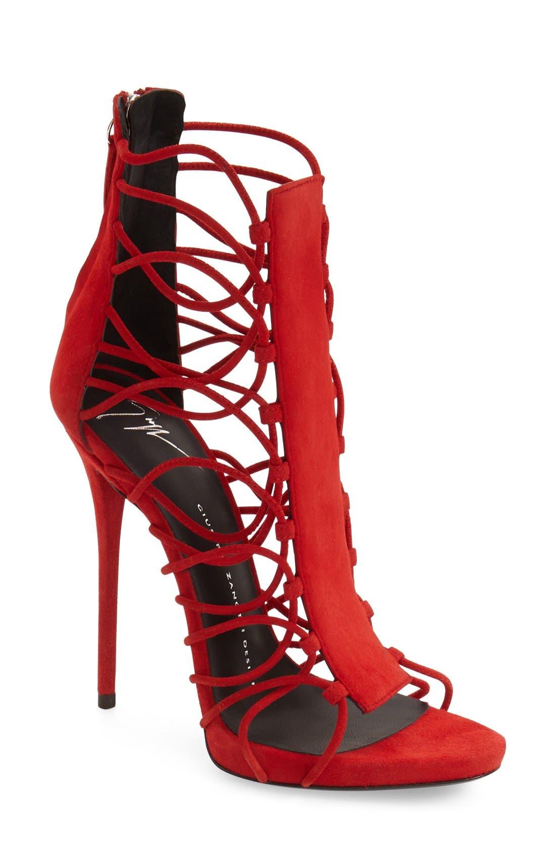Alternate Image 1 Selected - Giuseppe Zanotti 'Coline' Sandal (Women)