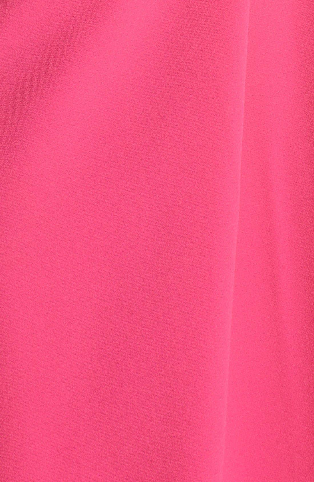 Alternate Image 5  - Jill Jill Stuart Cutout Crepe Gown