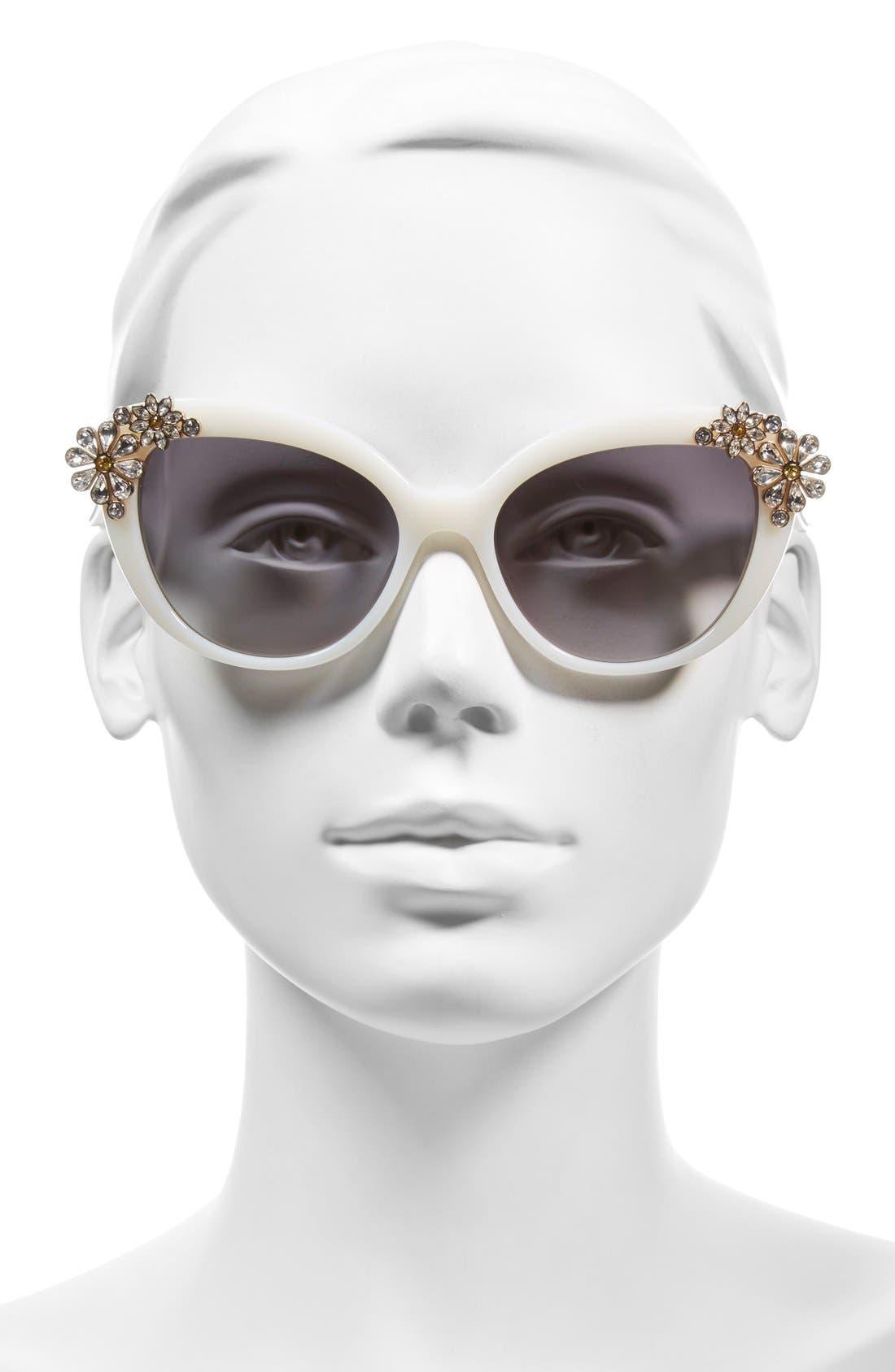 Alternate Image 2  - kate spade new york 'karyna' 55mm cat eye sunglasses