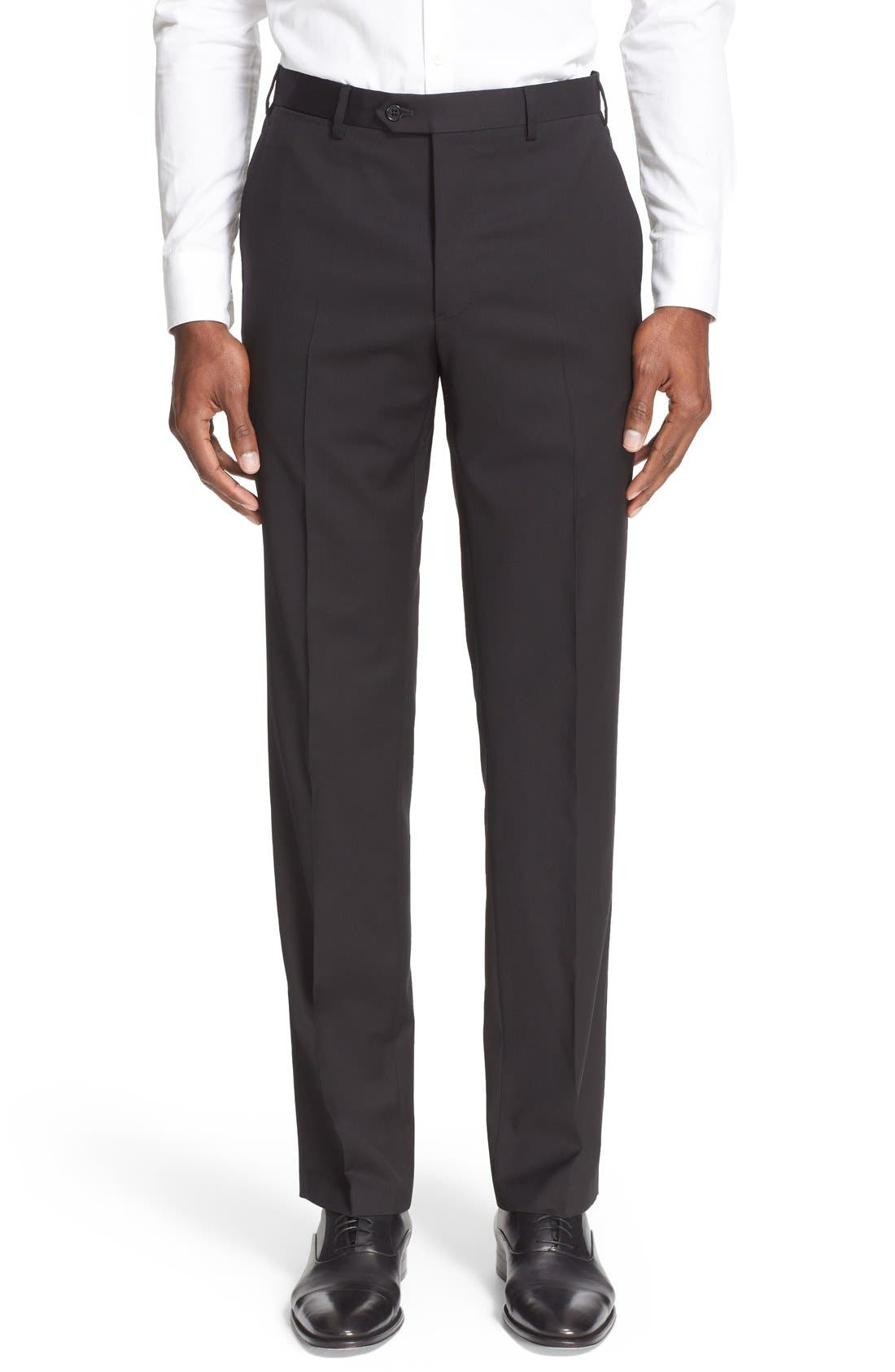 Alternate Image 7  - Armani Collezioni G-Line Trim Fit Solid Wool Suit