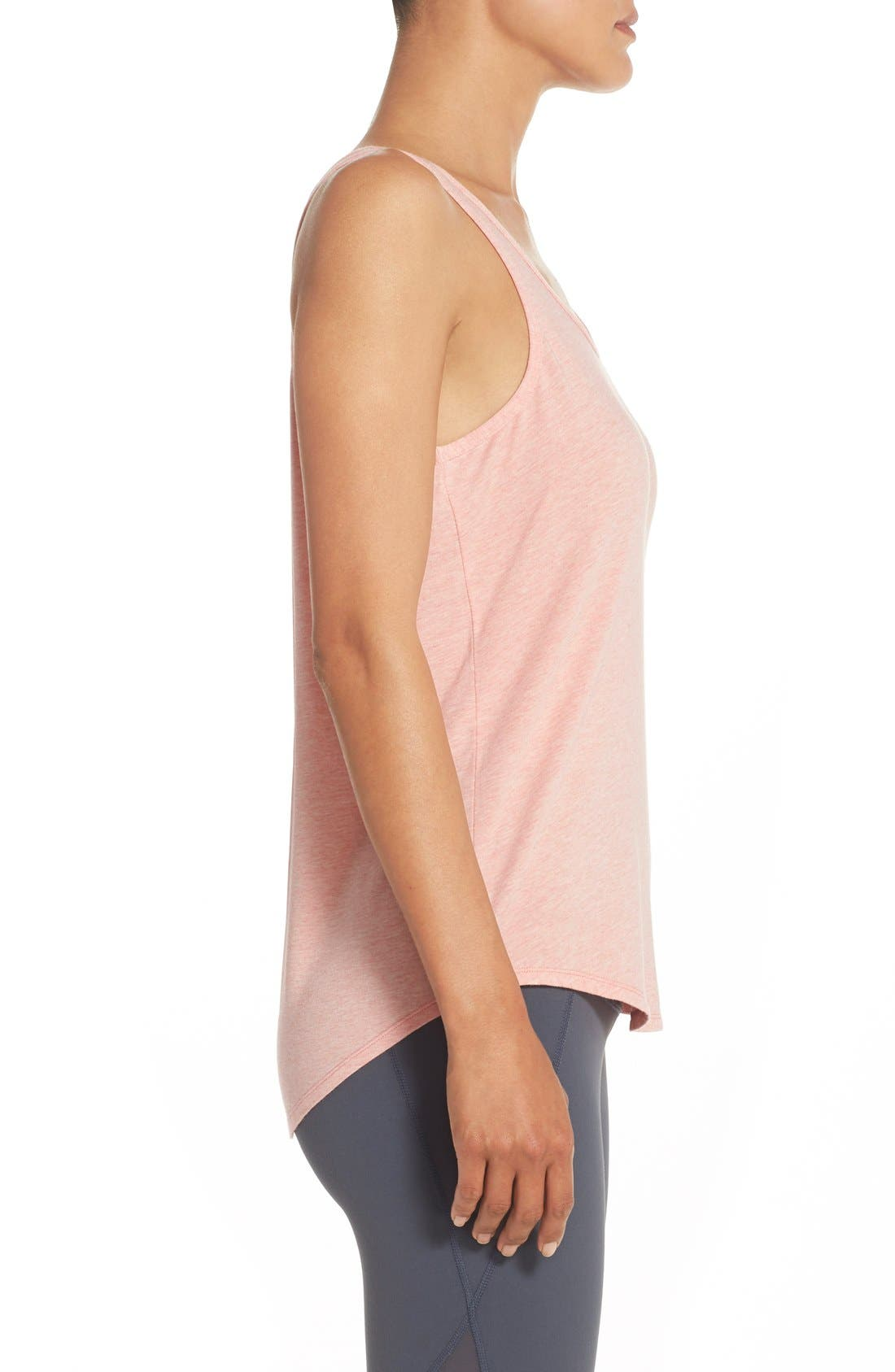 Alternate Image 3  - Zella 'Getaway' Cutout Back Tank