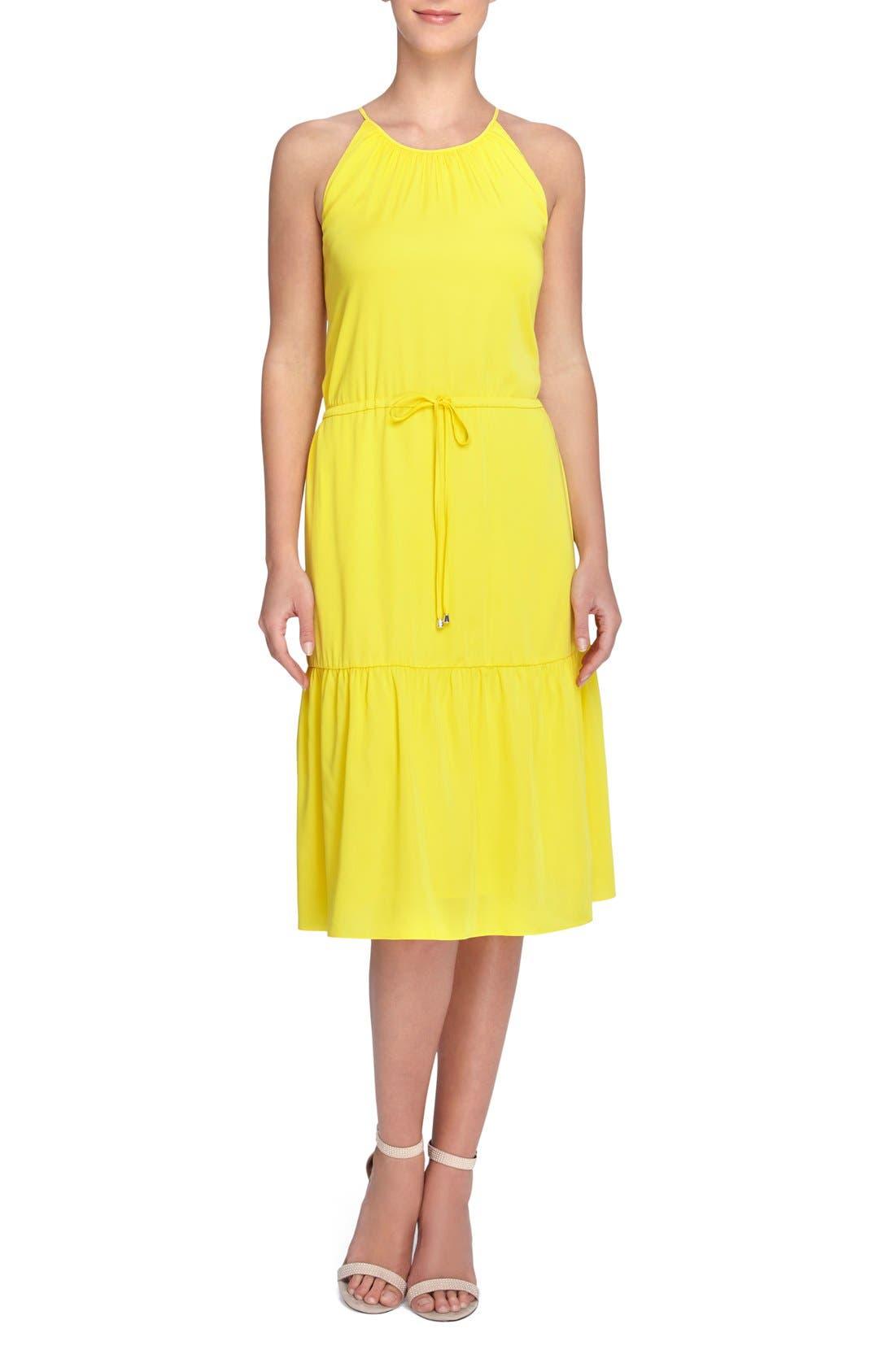 CATHERINE CATHERINE MALANDRINO Devon Halter Style Blouson Dress