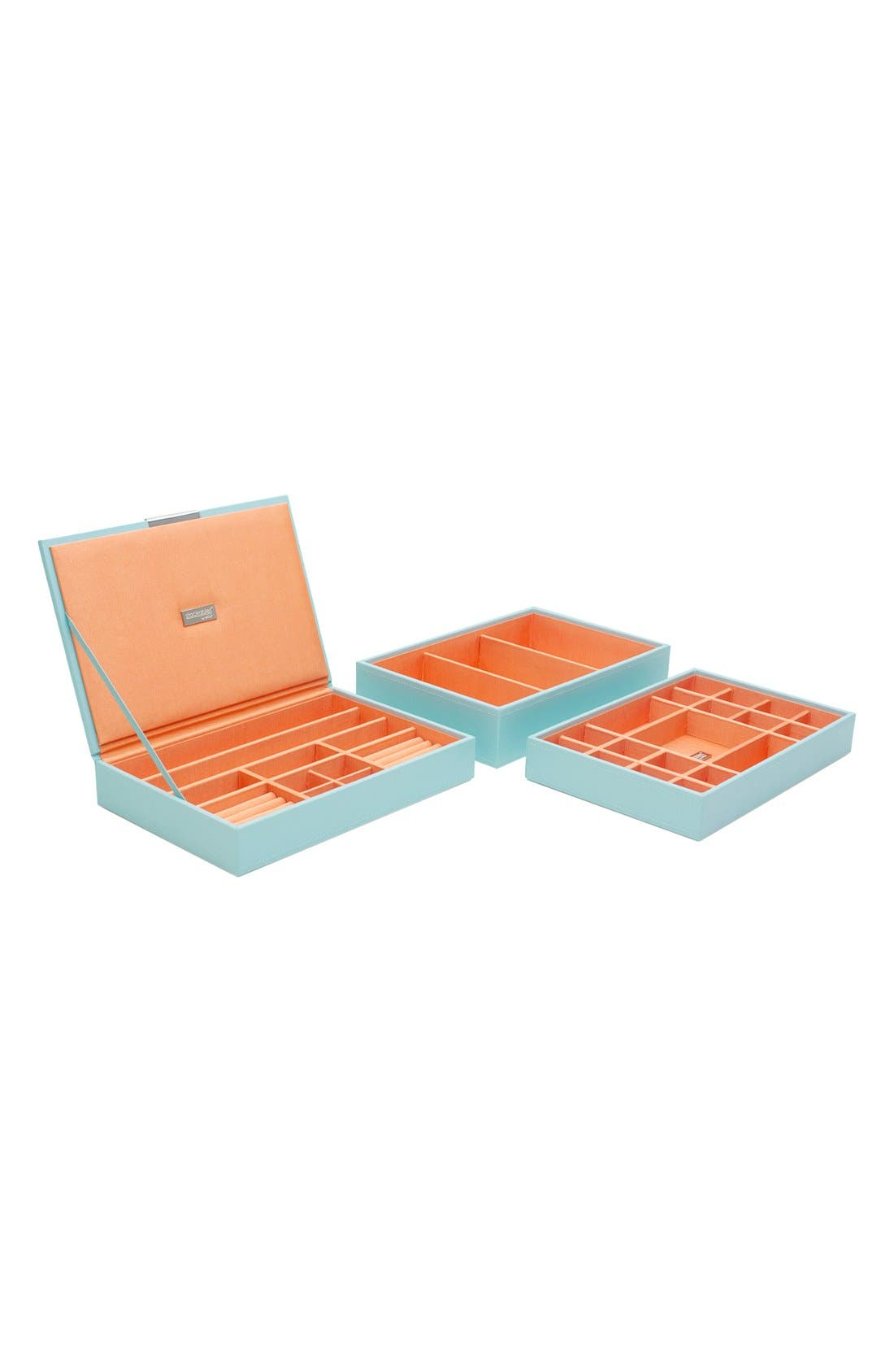 Wolf 'Medium Stackable' Jewelry Trays (Set of 3)