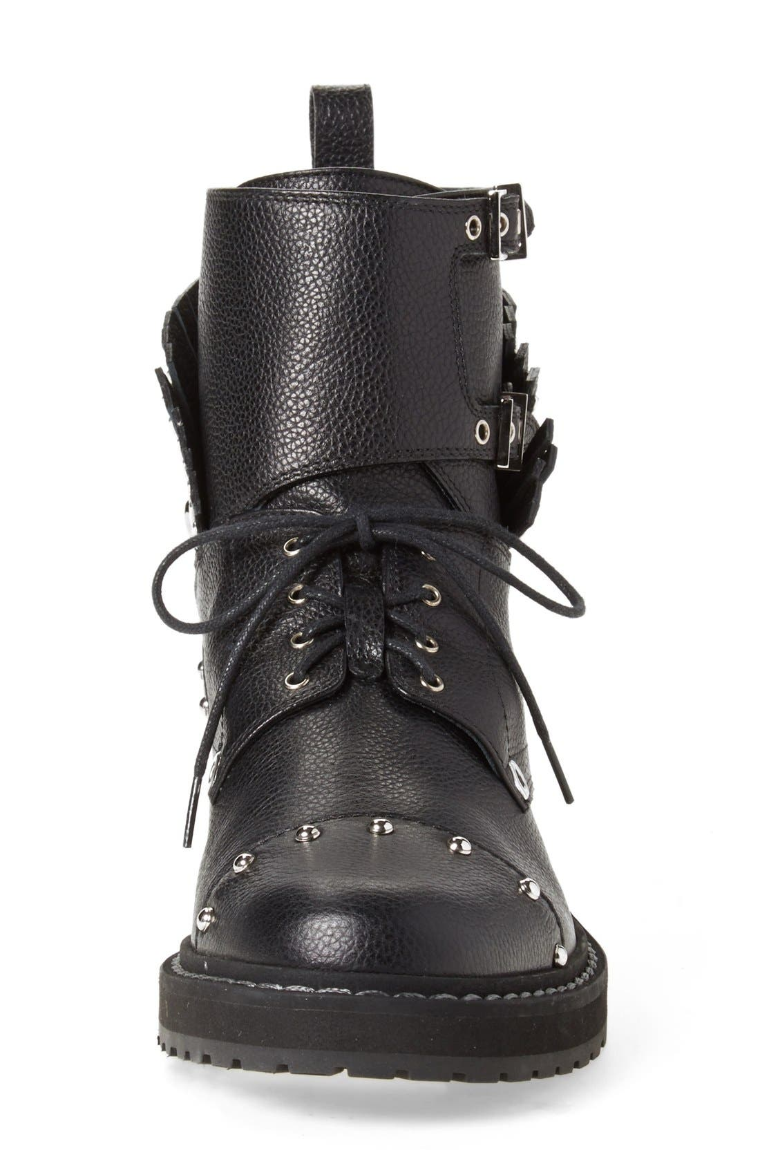 Alternate Image 3  - Fendi 'Bugs' Studded Combat Boot (Women)