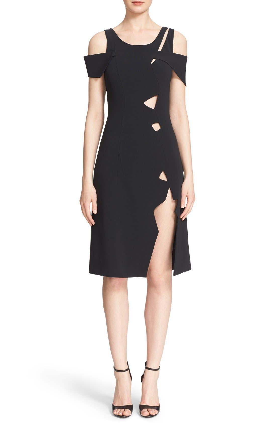 Alternate Image 1 Selected - Christopher Kane Cold Shoulder Dress
