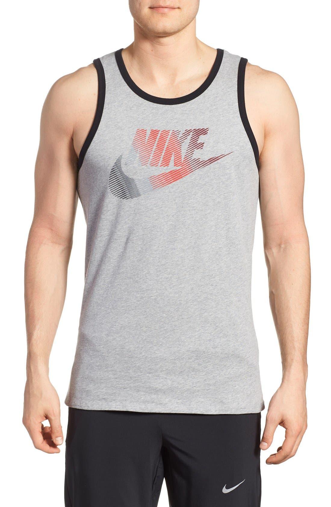 Alternate Image 1 Selected - Nike 'Futura Logo' Graphic Tank