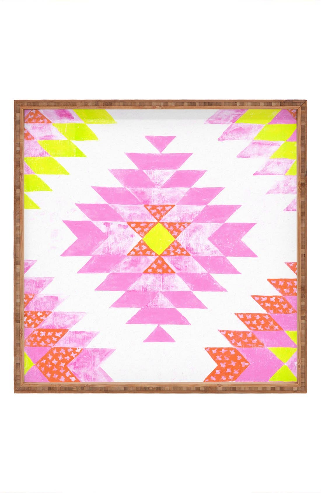 'Ashley Sta. Teresa - Chelsea & Coral' Framed Wall Art,                         Main,                         color, Pink