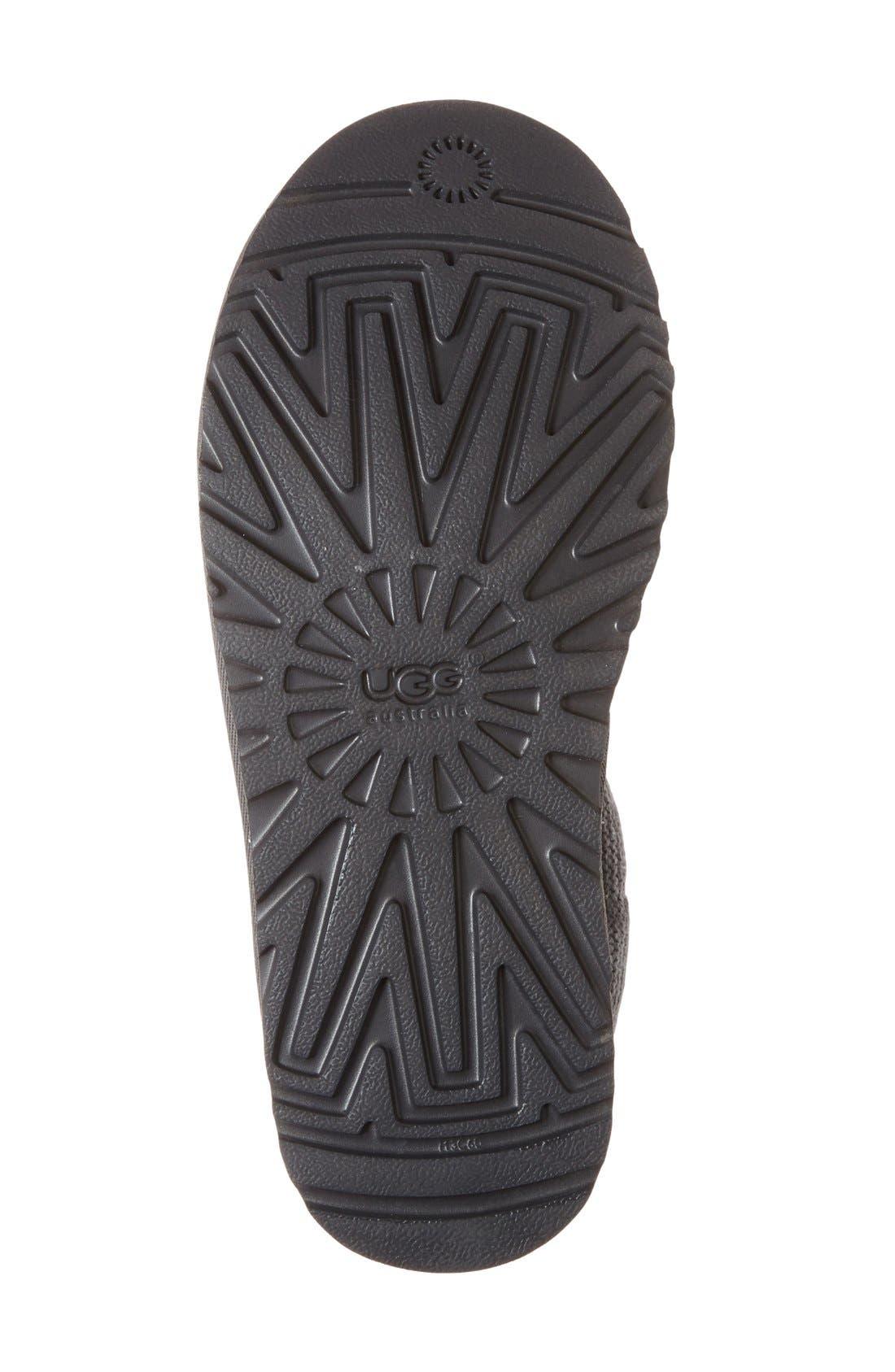 Alternate Image 4  - UGG® Shaina Knit Cuff Bootie (Women)