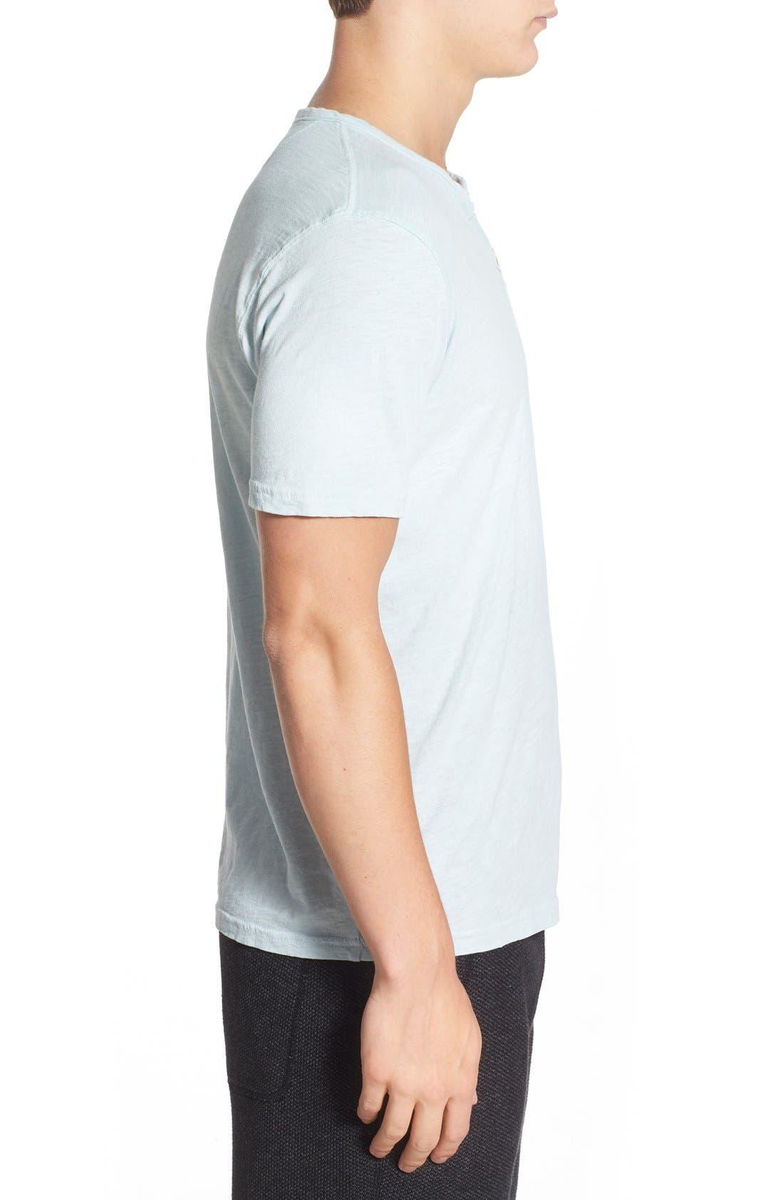 Alternate Image 3  - Lucky Brand Notch Short Sleeve Henley T-Shirt