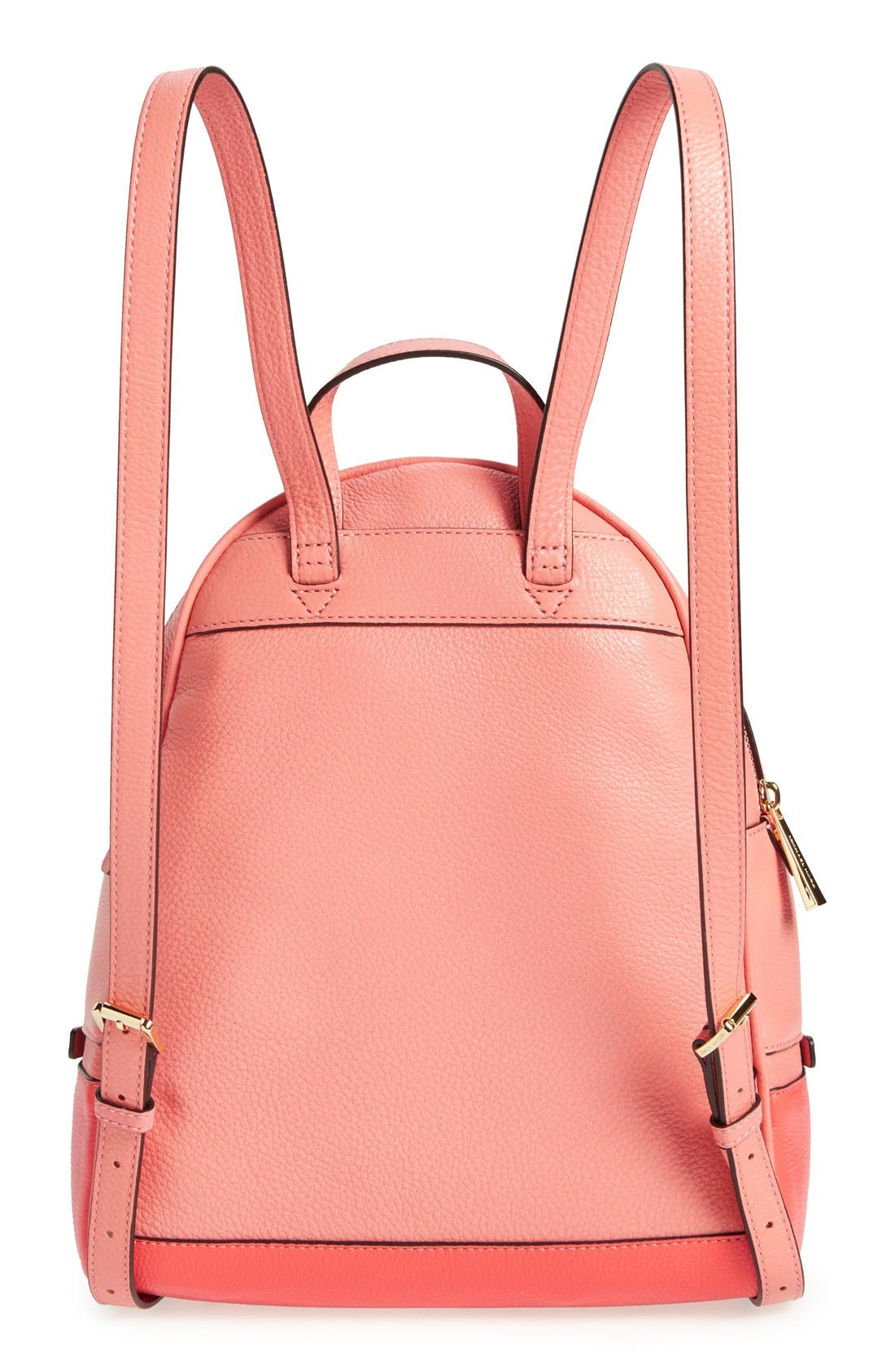 Alternate Image 3  - MICHAEL Michael Kors 'Small Rhea' Colorblock Leather Backpack