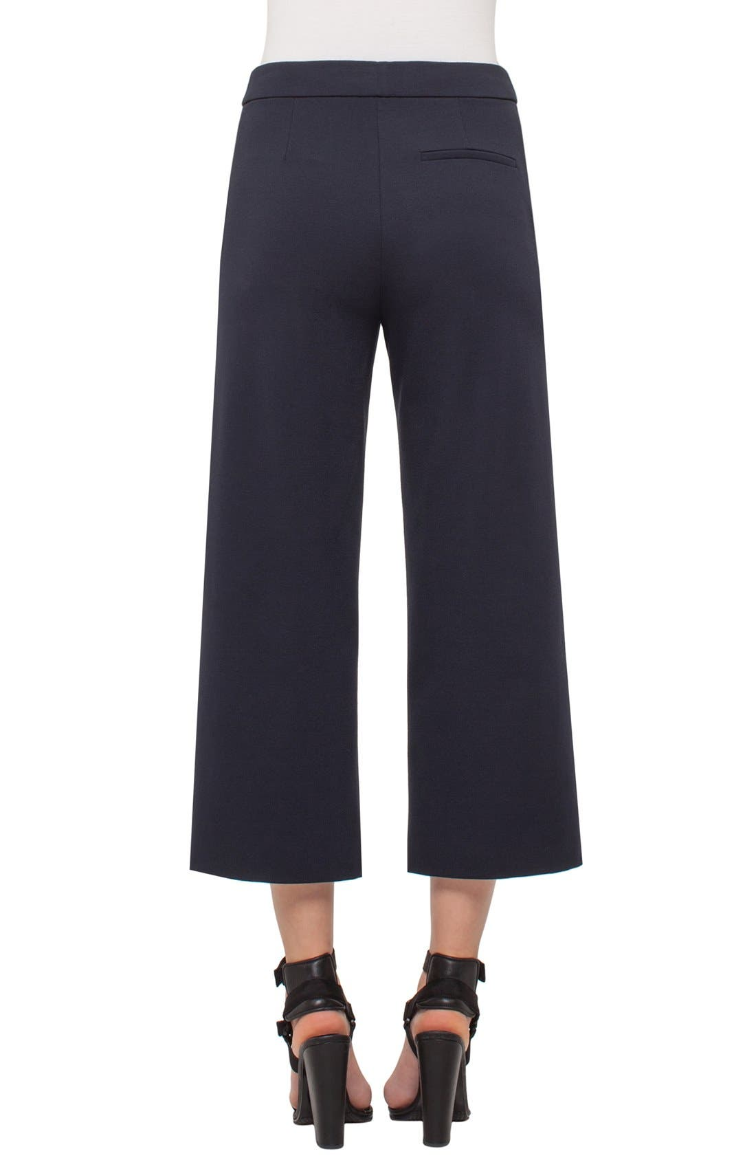 Alternate Image 2  - Akris punto High Waisted Stretch Jersey Culottes