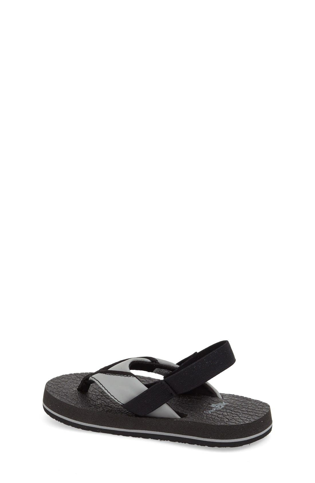 Alternate Image 2  - Sanuk 'Root Beer' Sandal (Toddler, Little Kid & Big Kid)
