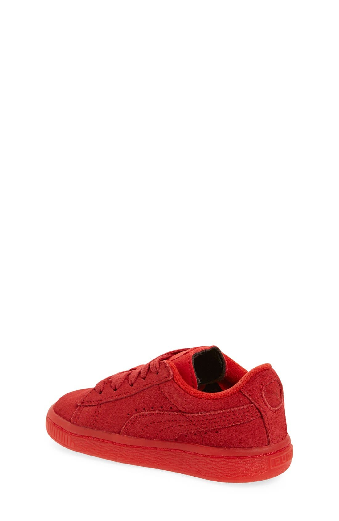 'Suede Iced' Sneaker,                             Alternate thumbnail 2, color,                             Red