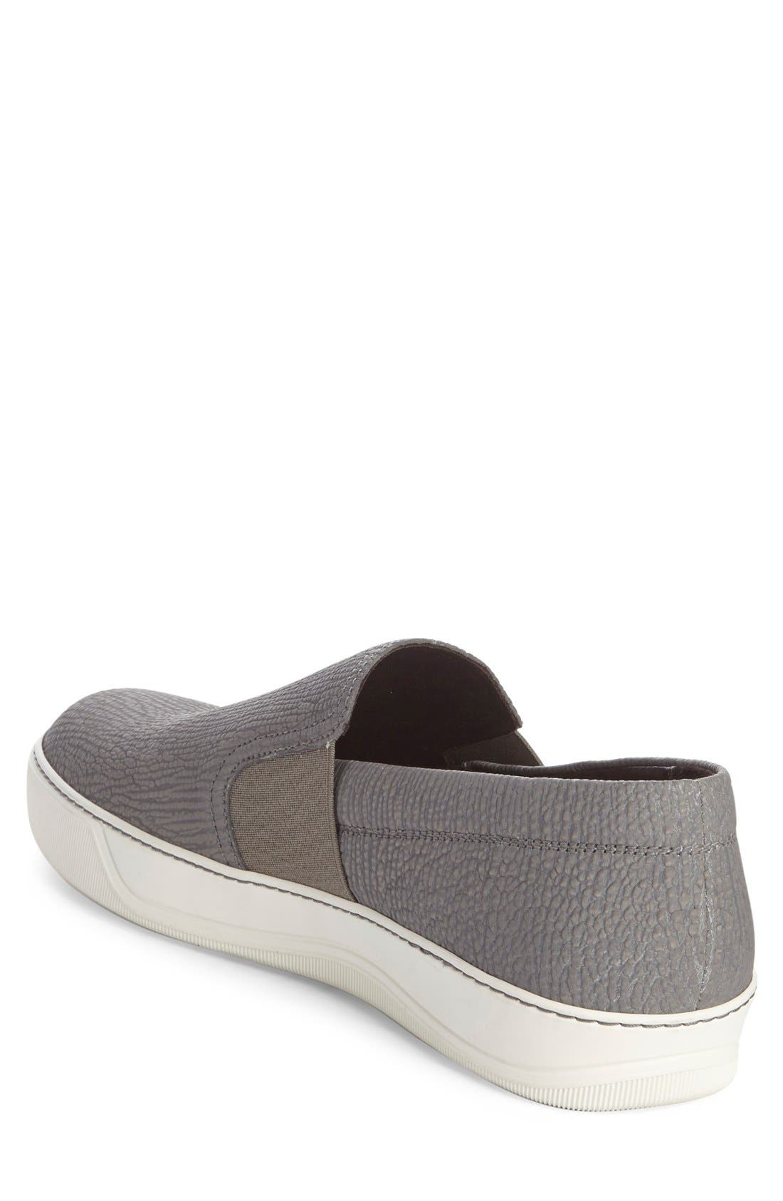 Alternate Image 2  - Lanvin Matte Slip-On (Men)