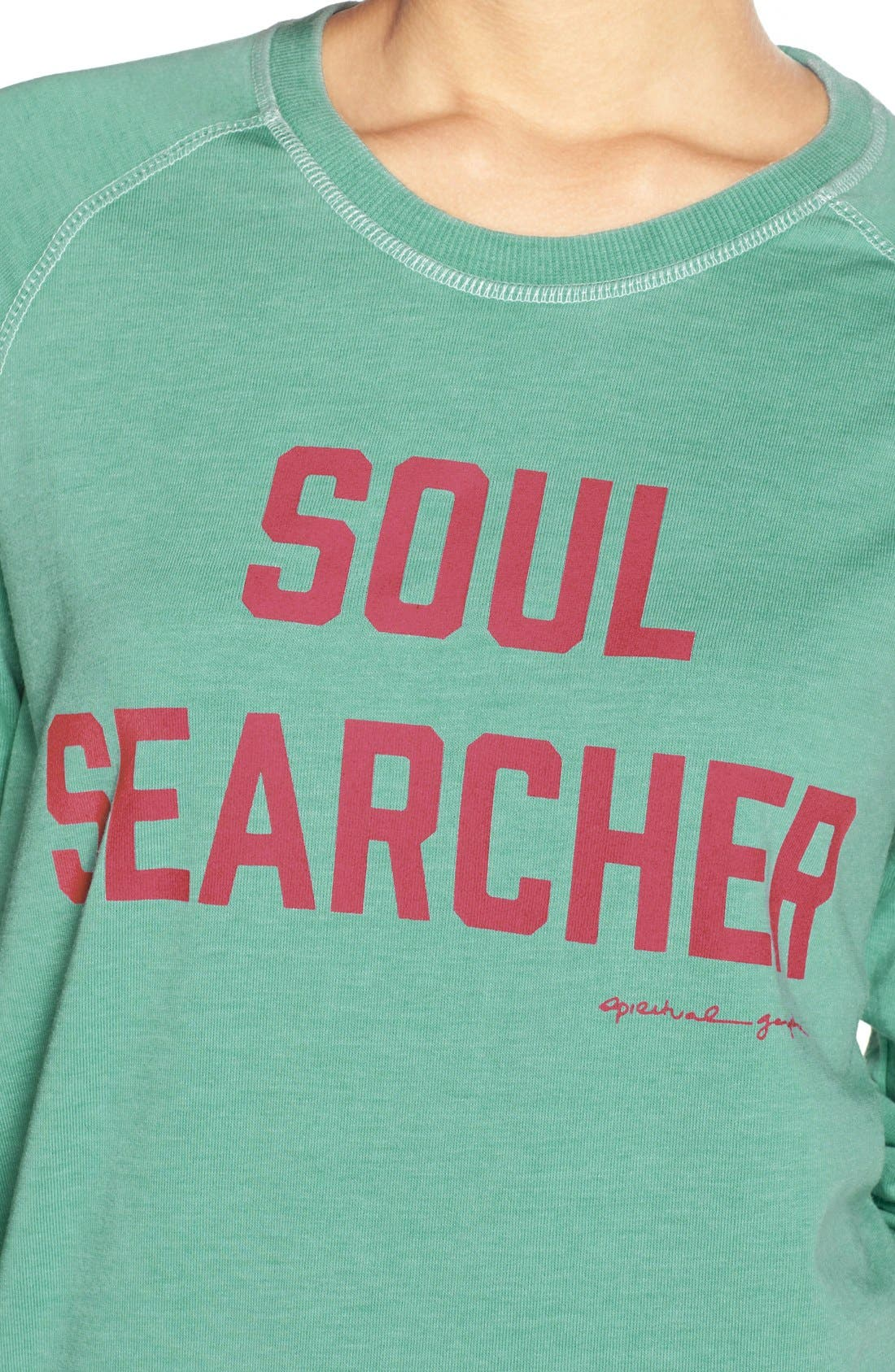 Alternate Image 4  - Spiritual Gangster 'Soul Searcher' Sweatshirt