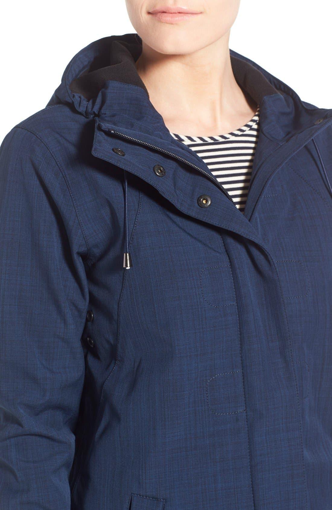 Alternate Image 4  - Ilse Jacobsen Hooded Raincoat