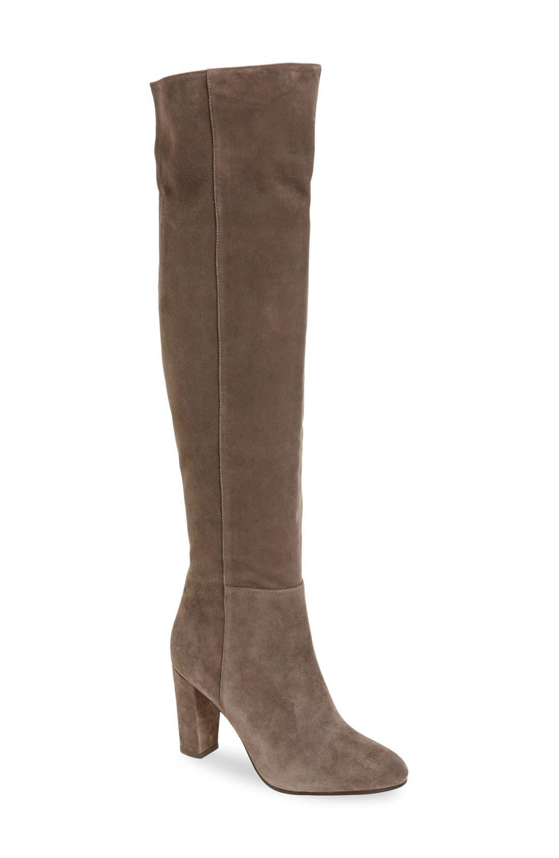 Main Image - Halogen® 'Noble' Over the Knee Boot (Women)