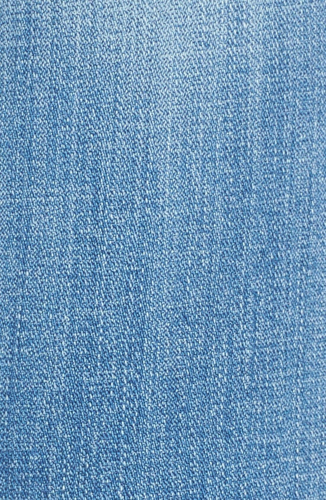 Alternate Image 5  - 7 For All Mankind® 'Josefina' Relaxed Skinny Jeans (Medium Broken Twill)