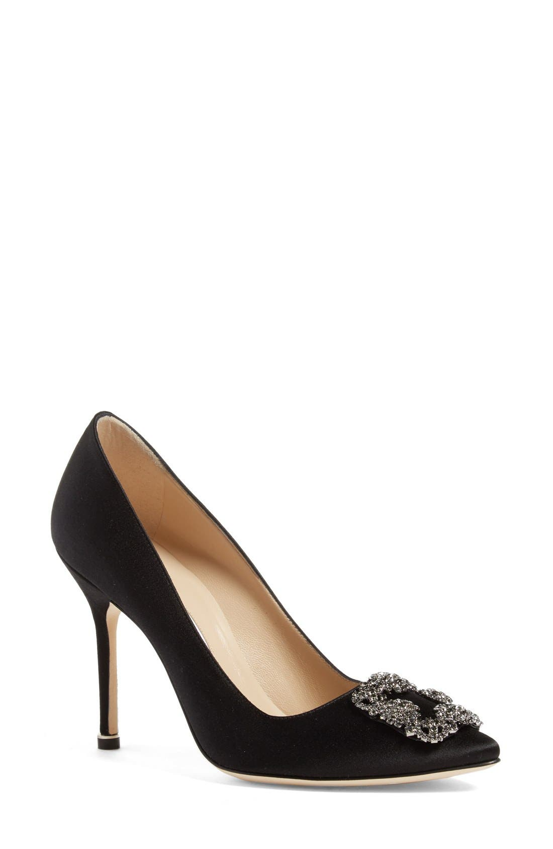 Manolo Blahnik 'Hangisi' Jewel Pump (Women)