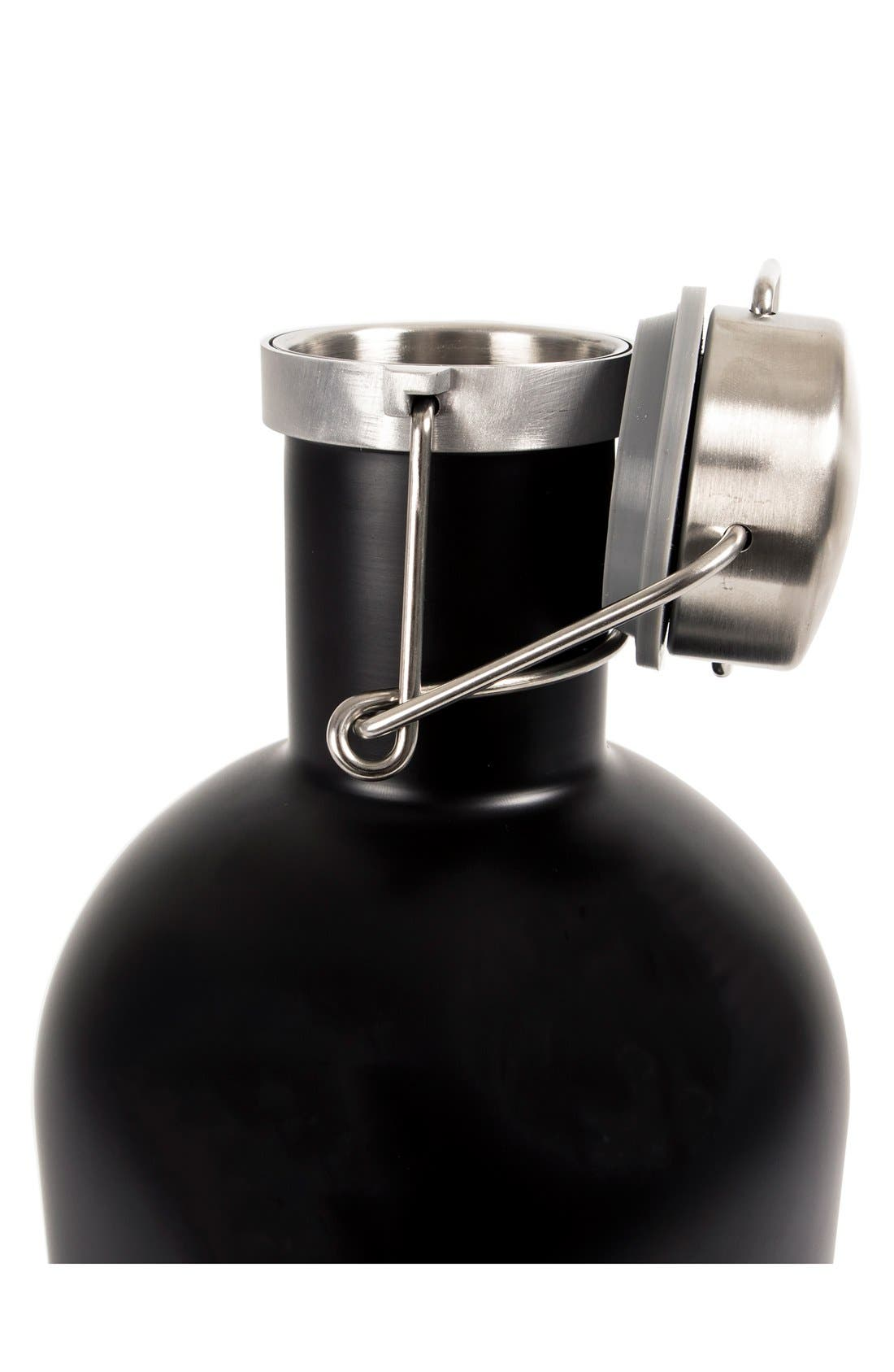 Alternate Image 3  - Cathy's Concepts Monogram Stainless Steel Growler