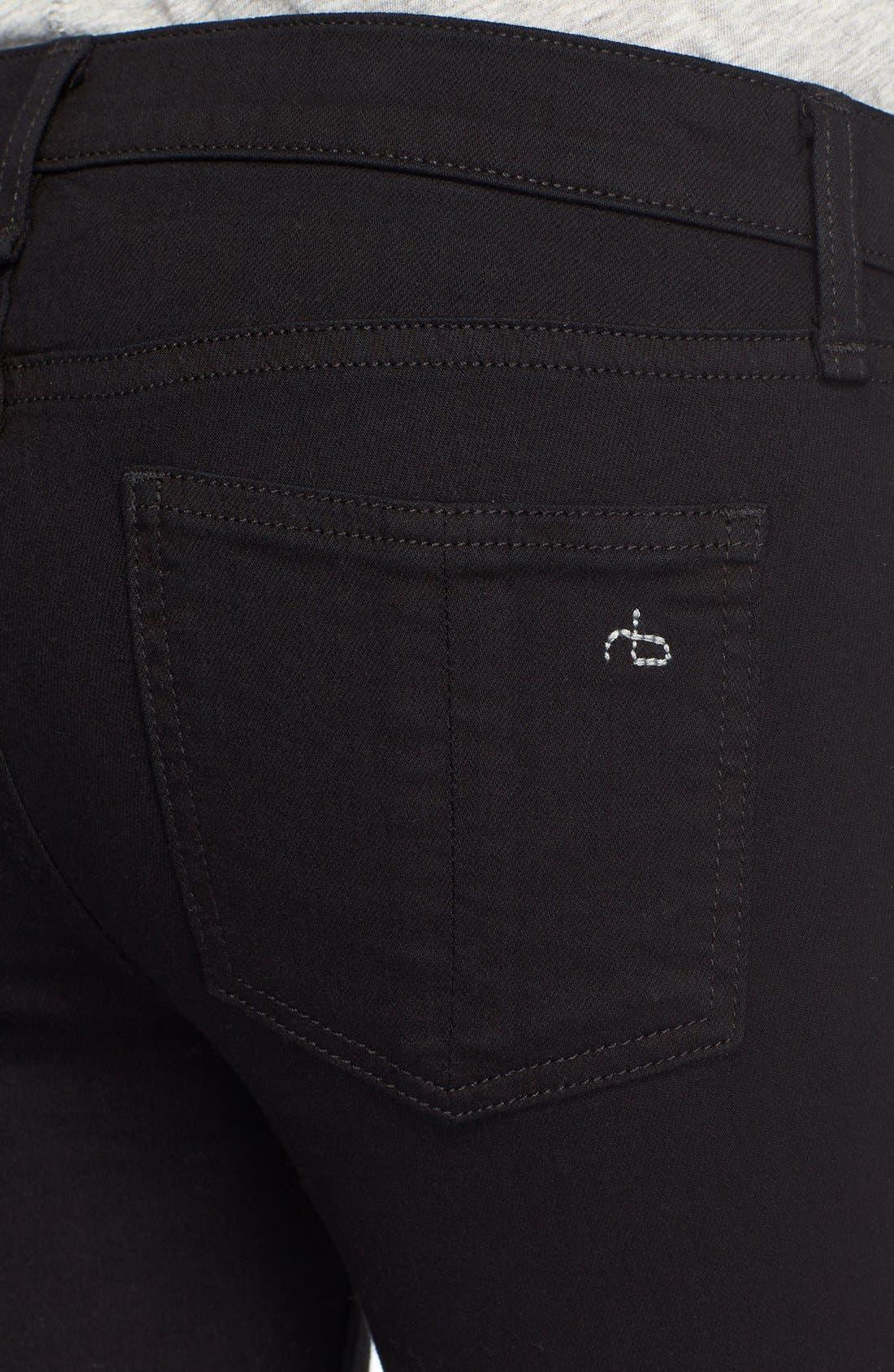 Alternate Image 4  - rag & bone/JEAN Capri Skinny Jeans