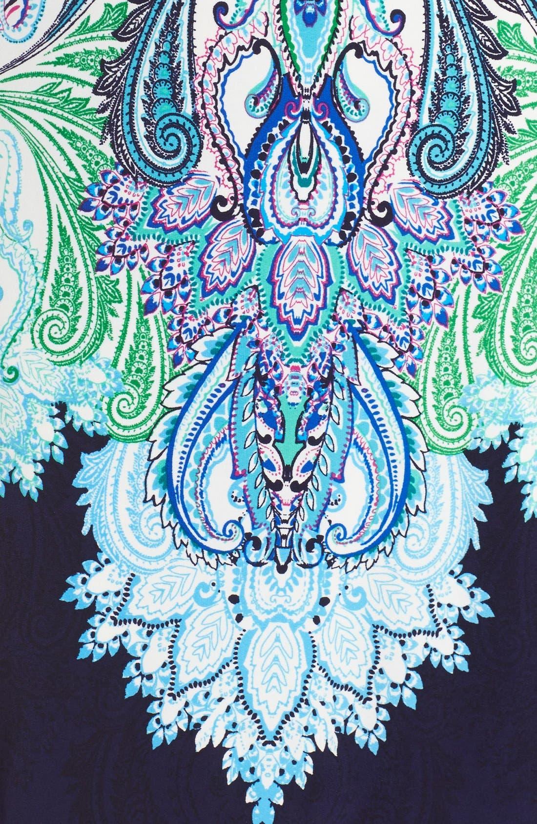 Alternate Image 6  - Eliza J Print Jersey Shift Dress (Regular & Petite)