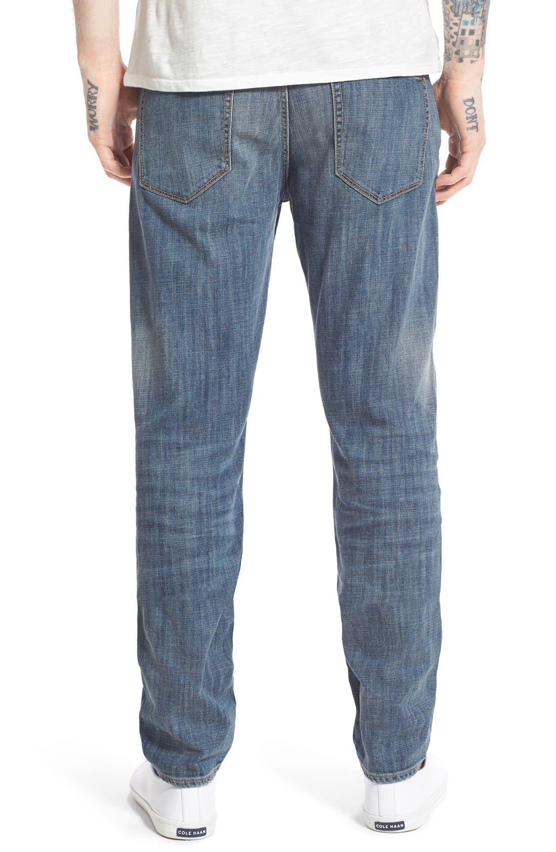 Alternate Image 2  - Treasure&Bond Slim Fit Jeans (Medium Twilight Wash)