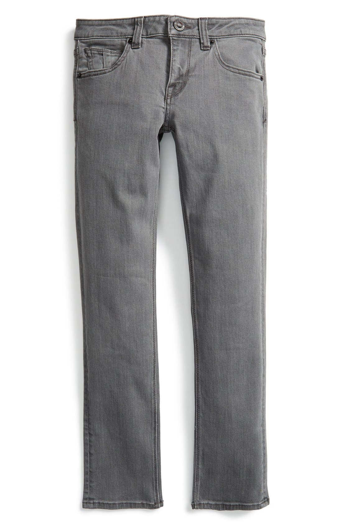 Main Image - Volcom 'Vorta' Slim Fit Jeans (Little Boys)