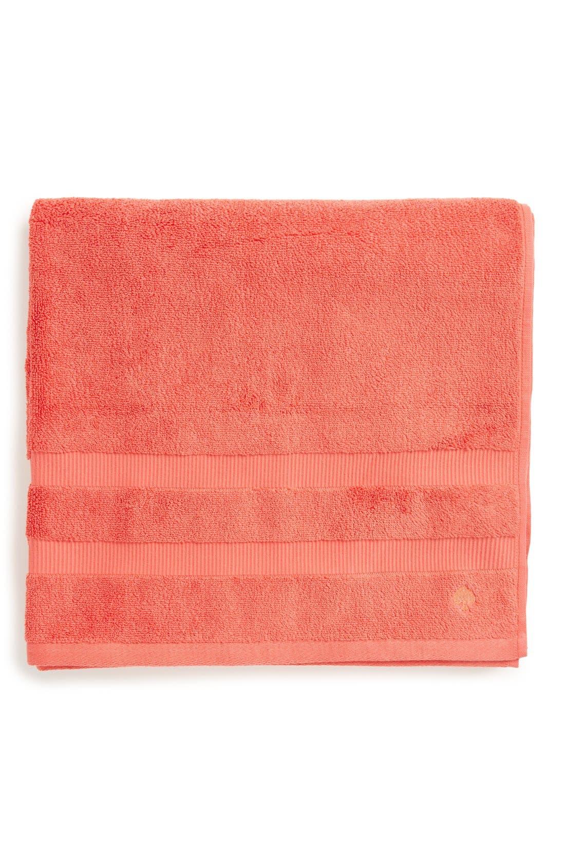 kate spade new york 'chattam stripe' bath towel