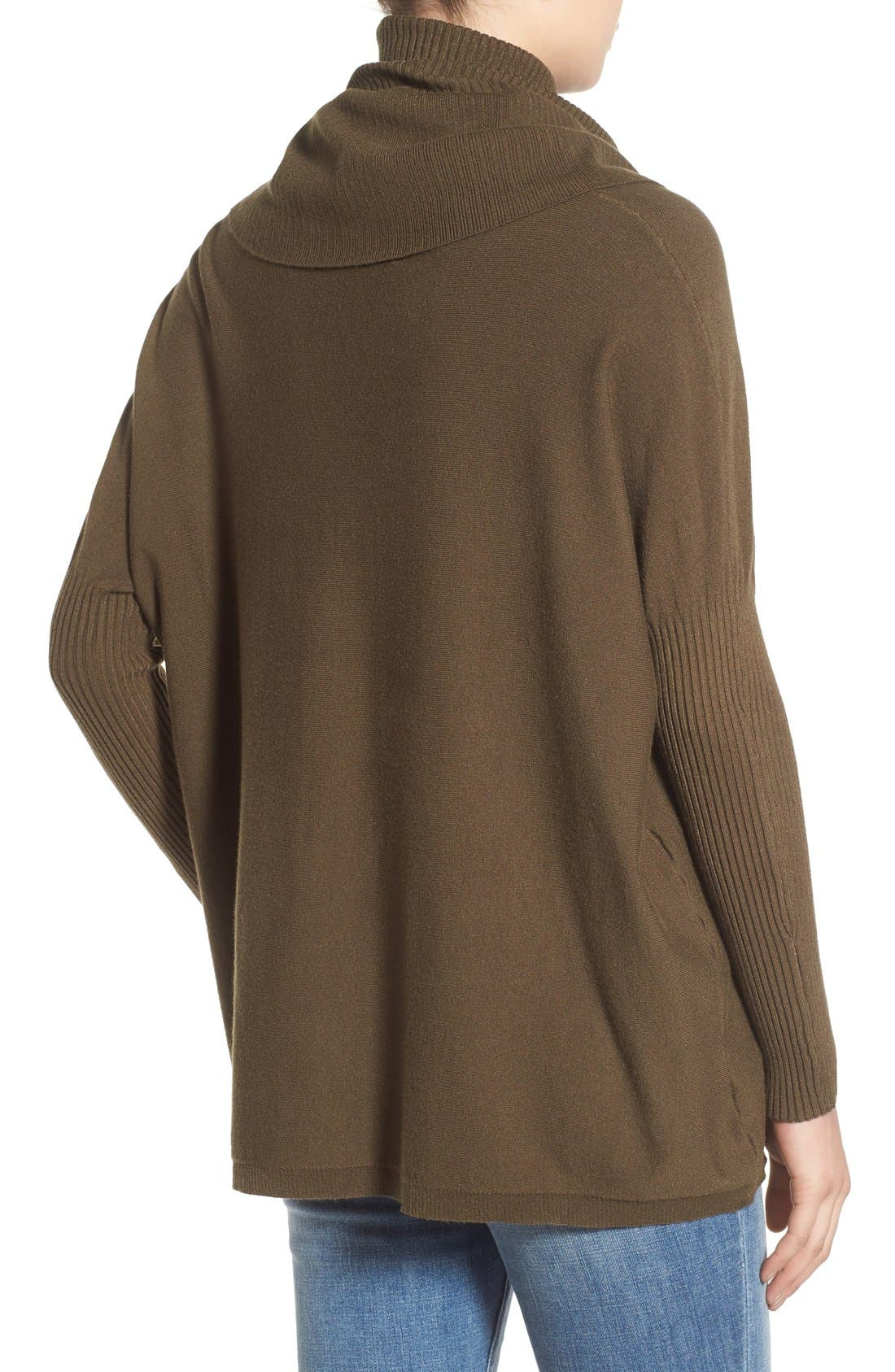 Alternate Image 2  - Dreamers by Debut Cowl Neck Boxy Pullover