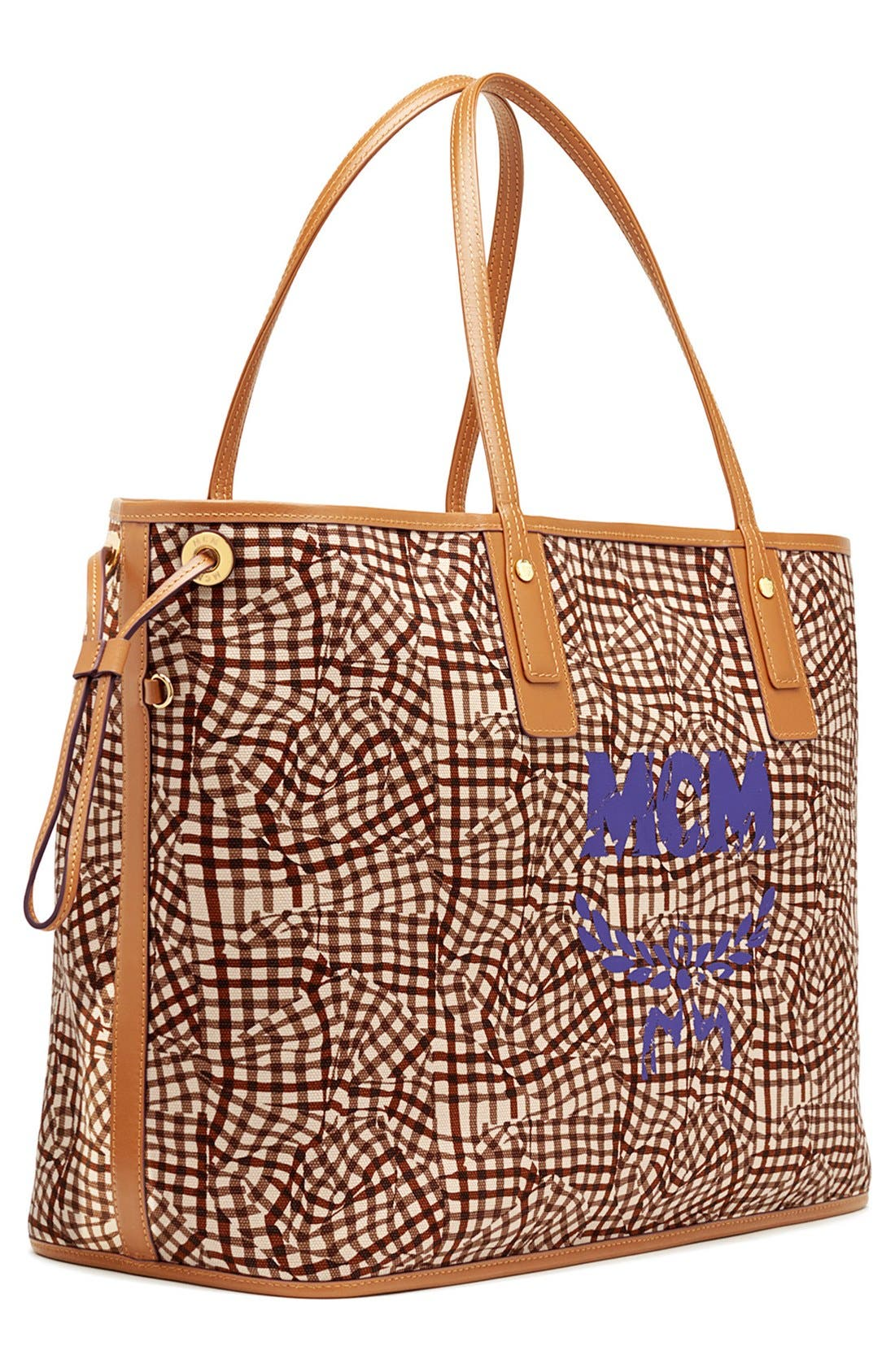 Alternate Image 5  - MCM 'Large Liz' Reversible Shopper