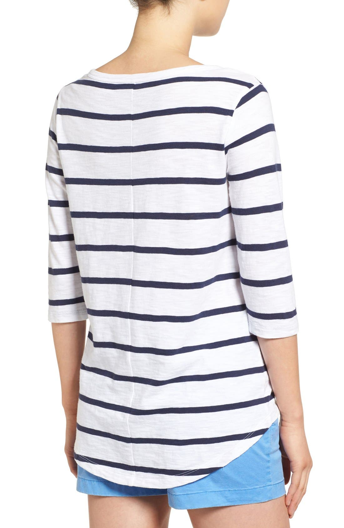 Alternate Image 2  - Vineyard Vines 'Anguilla' Stripe Tee