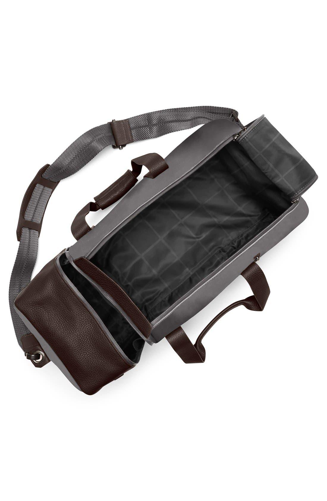 'Mestr' Duffel Bag,                             Alternate thumbnail 3, color,                             Gunmetal