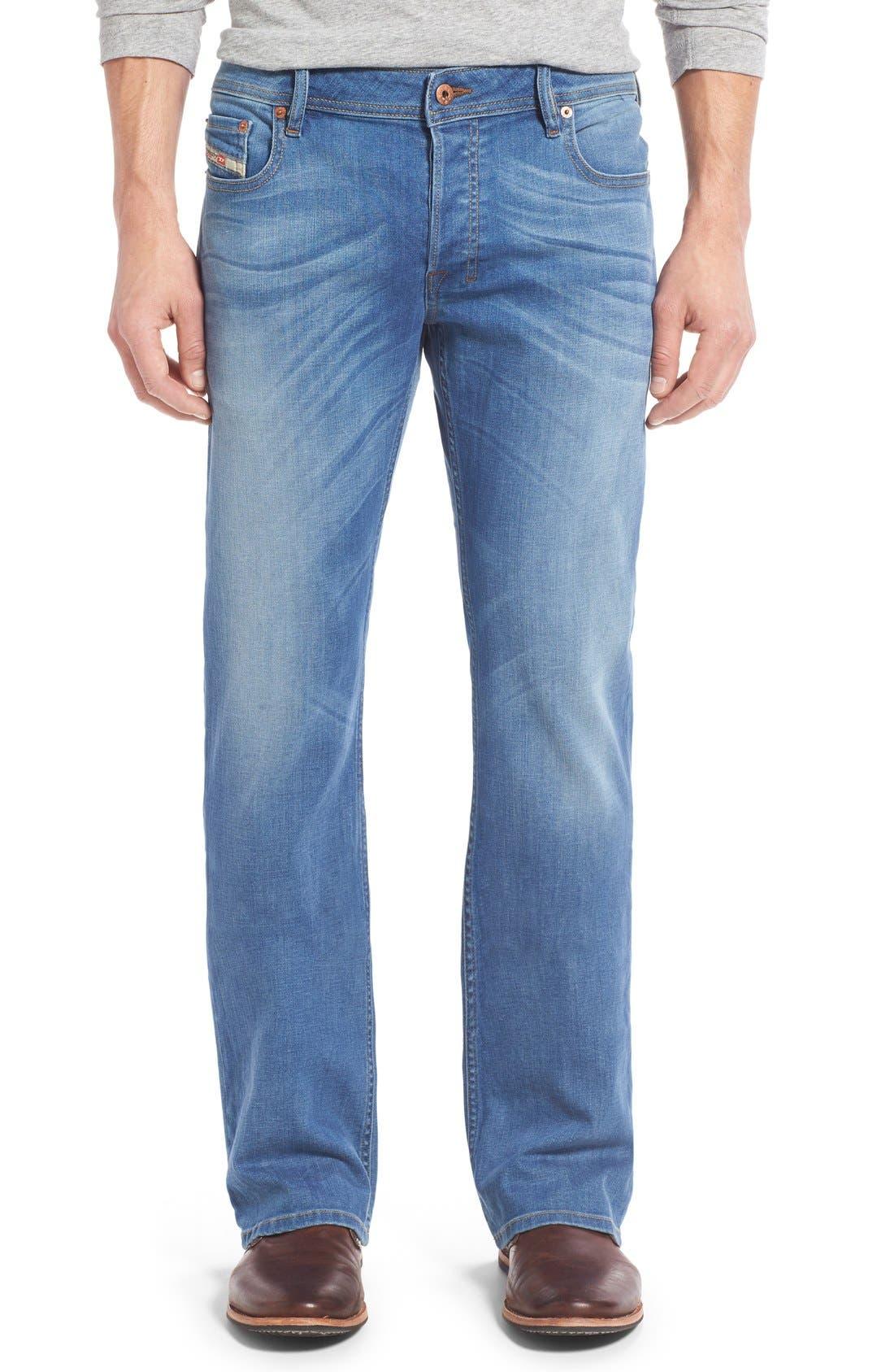 DIESEL® 'Zatiny' Bootcut Jeans (U665H)