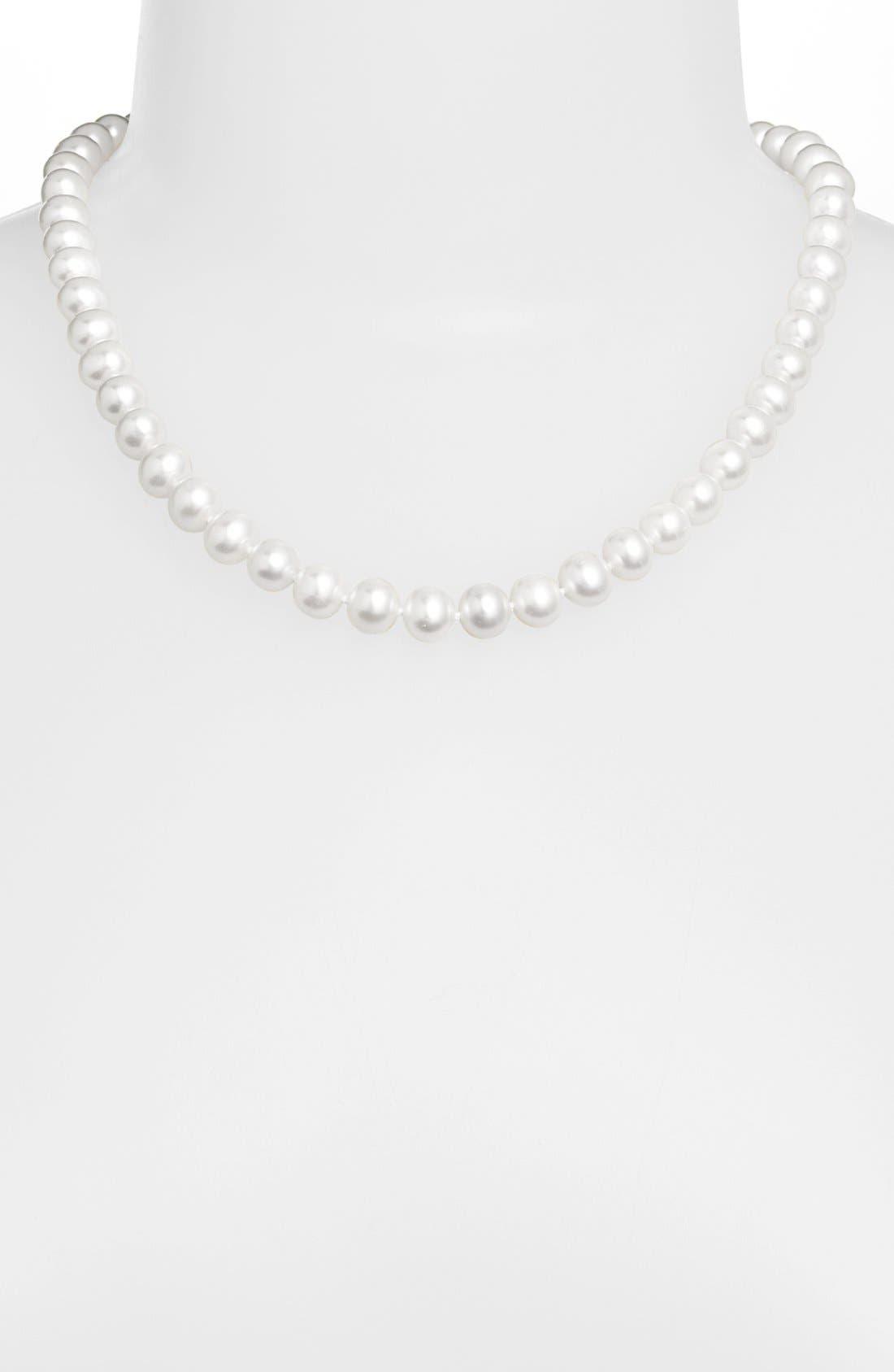 Alternate Image 2  - LAGOS 'Luna' 10mm Pearl Necklace