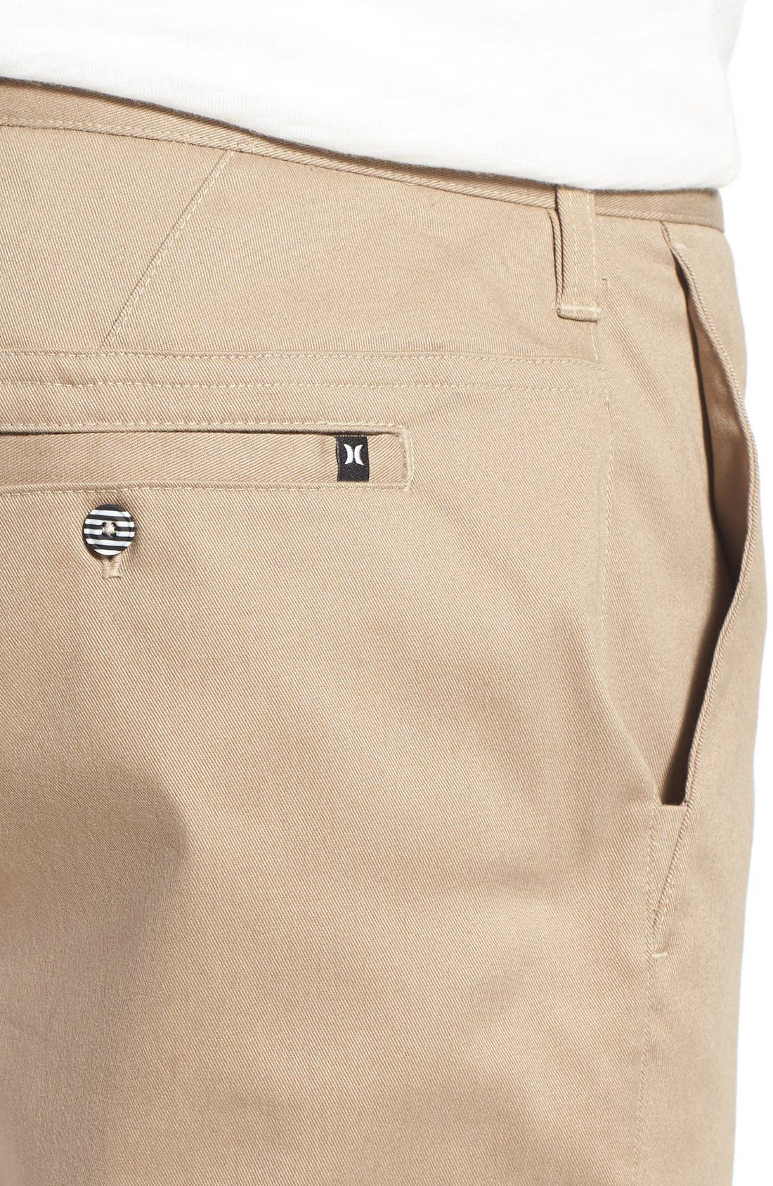 Dri-FIT Chinos,                             Alternate thumbnail 4, color,                             Beige