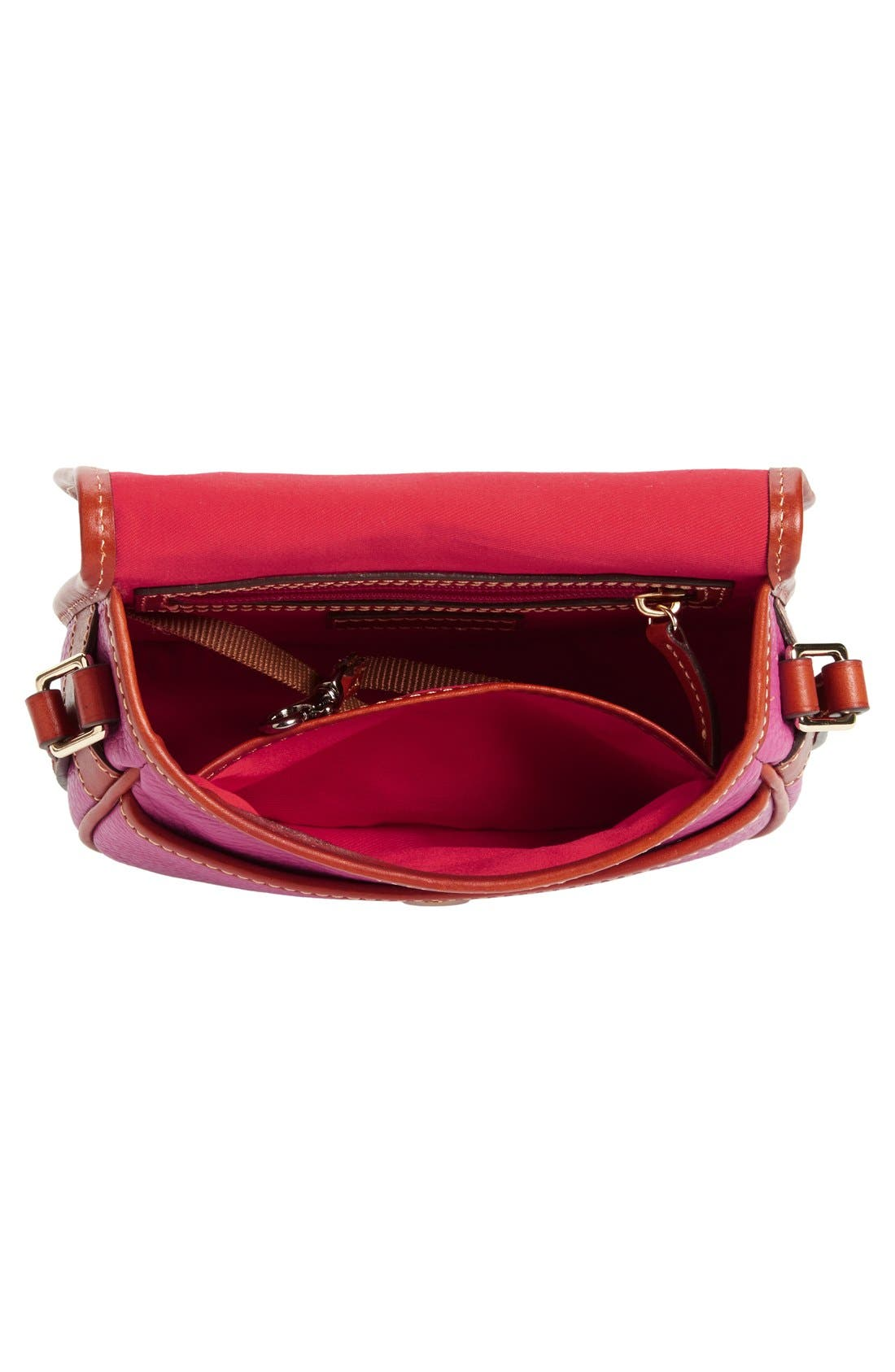 Alternate Image 4  - Dooney & Bourke 'Hallie' Leather Crossbody Bag