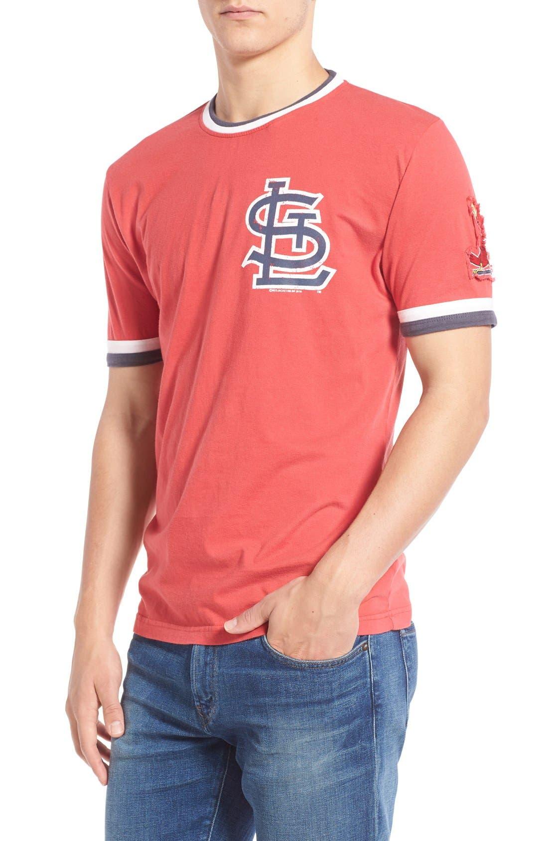 'Saint Louis Cardinals - Remote Control' Trim Fit T-Shirt,                         Main,                         color, Red