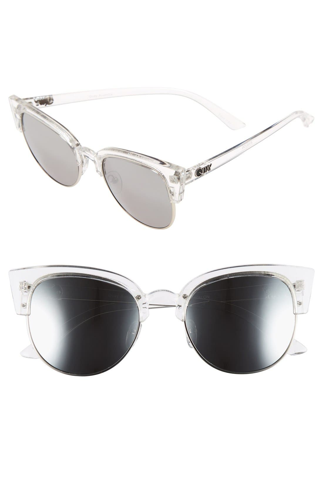 Main Image - Quay Australia 'Avalon' 55mm Retro Sunglasses