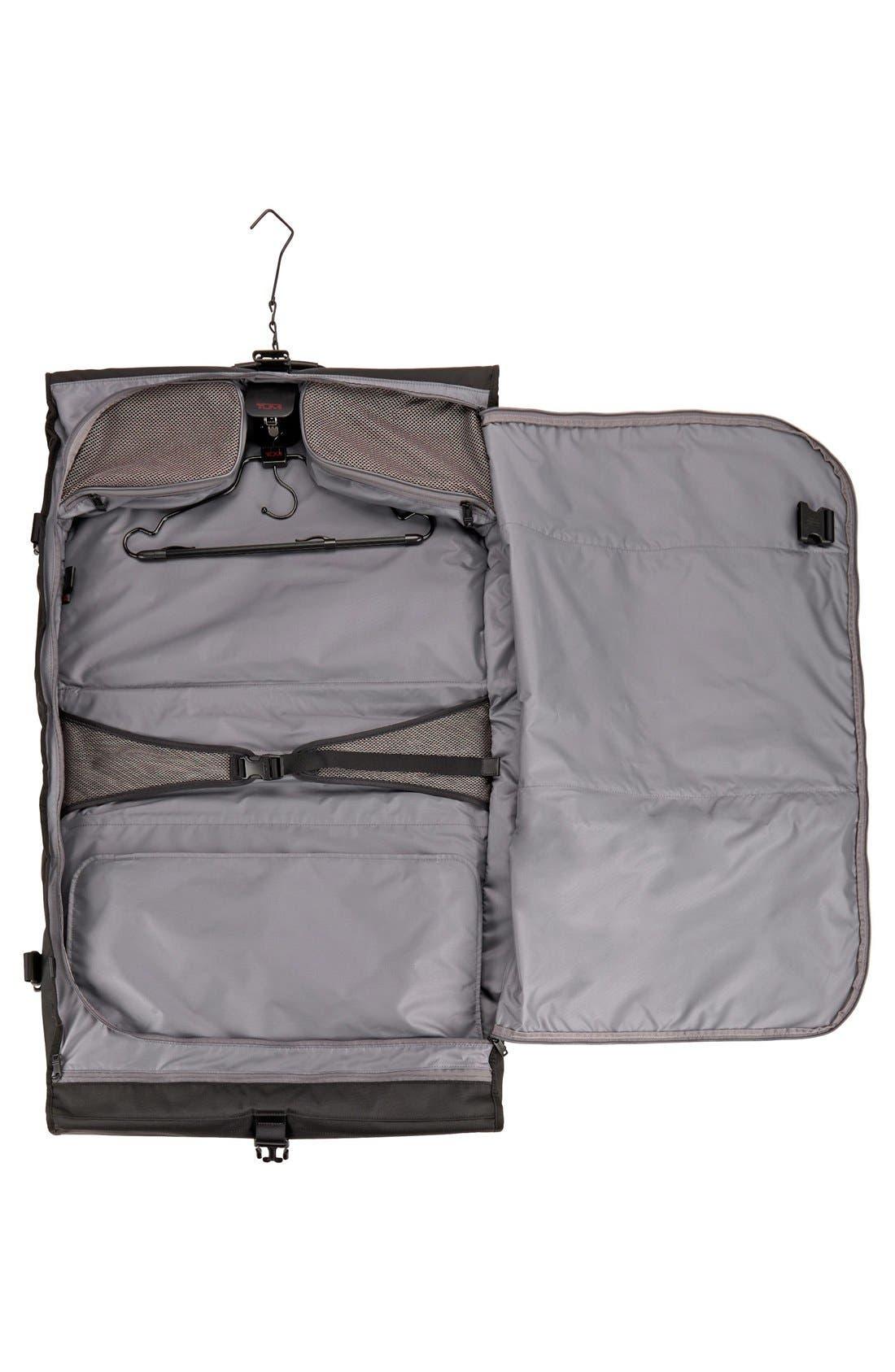 Alpha 2 Classic Garment Bag,                             Alternate thumbnail 5, color,                             Black