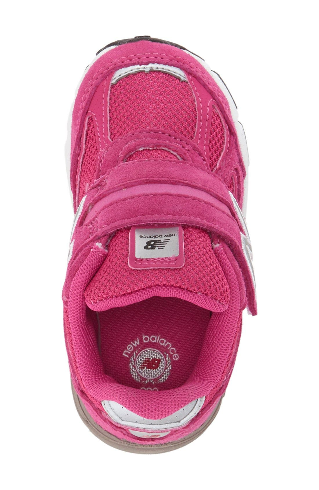 '990' Sneaker,                             Alternate thumbnail 3, color,                             Pink
