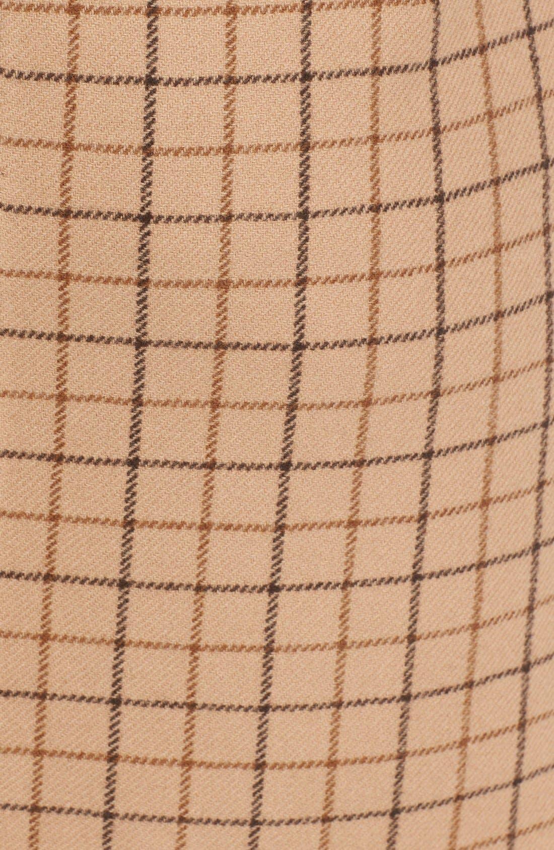 Alternate Image 3  - Michael Kors Plaid Wool A-Line Skirt