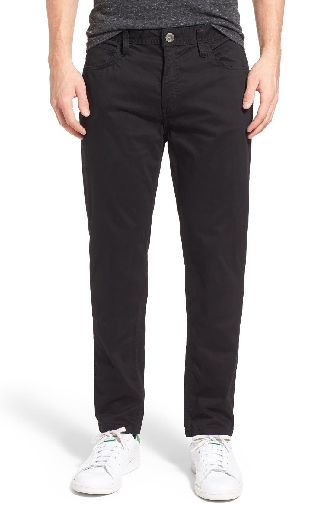 'Silverlake' Pants,                             Main thumbnail 1, color,                             Black