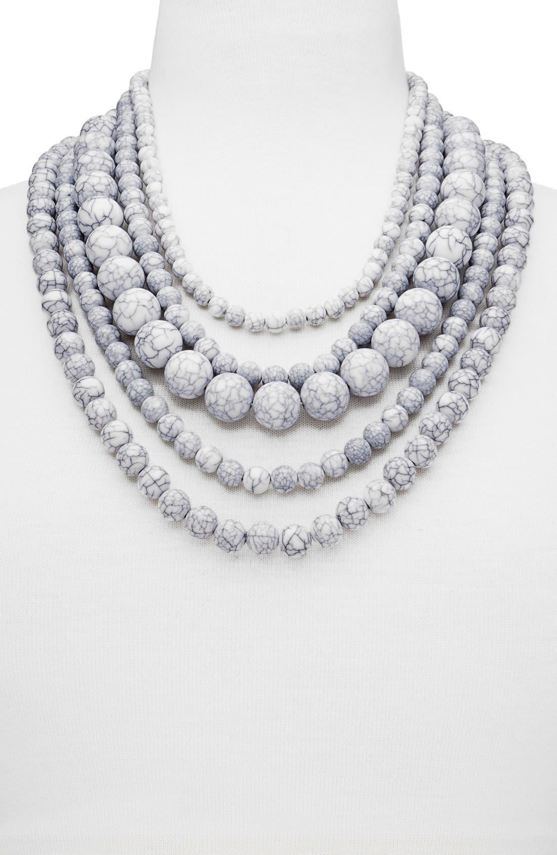 Alternate Image 2  - BaubleBar 'Globe' Multistrand Beaded Necklace